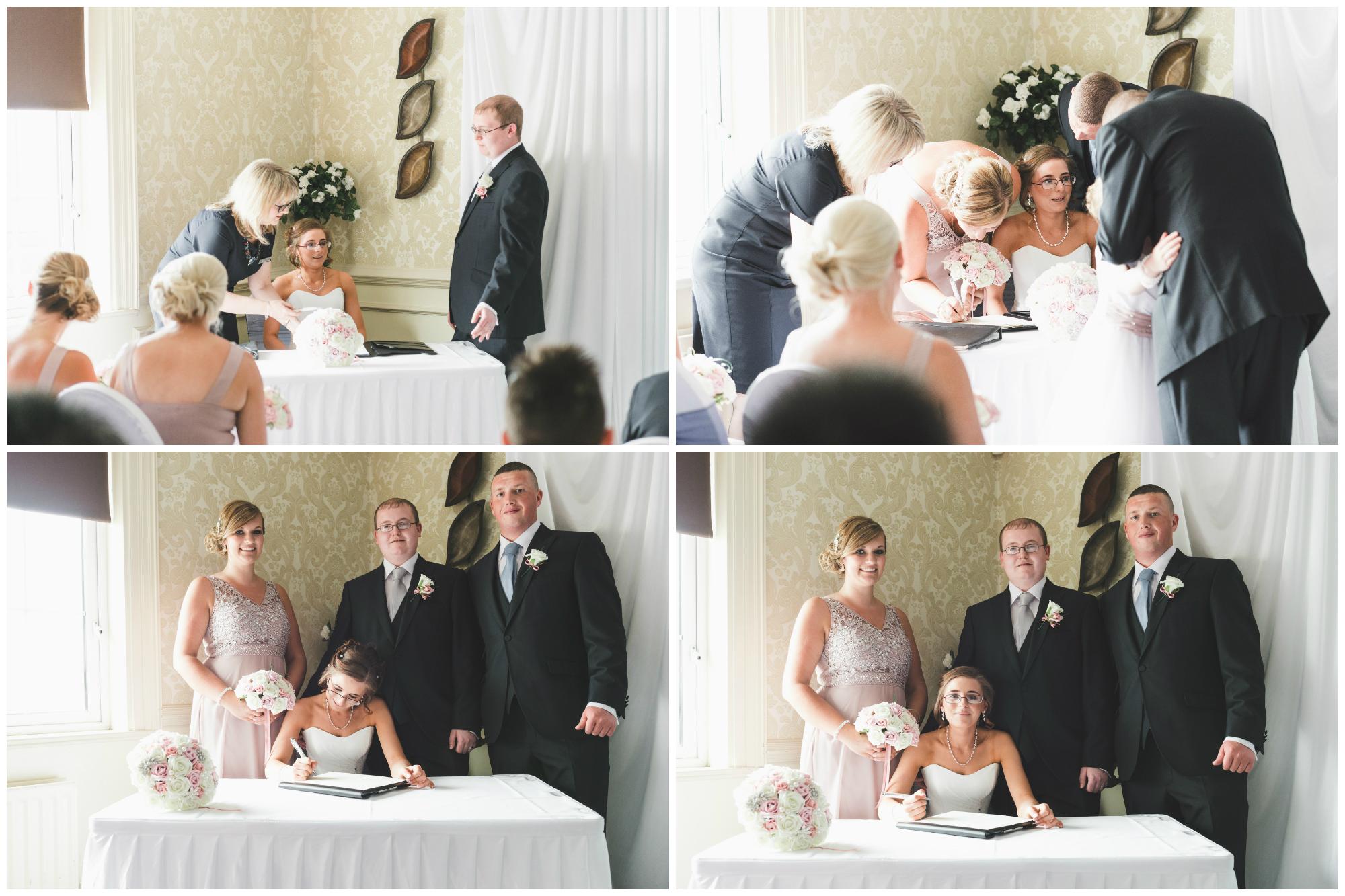 Ballymac_Hotel_Lisburn_Wedding_signing_register