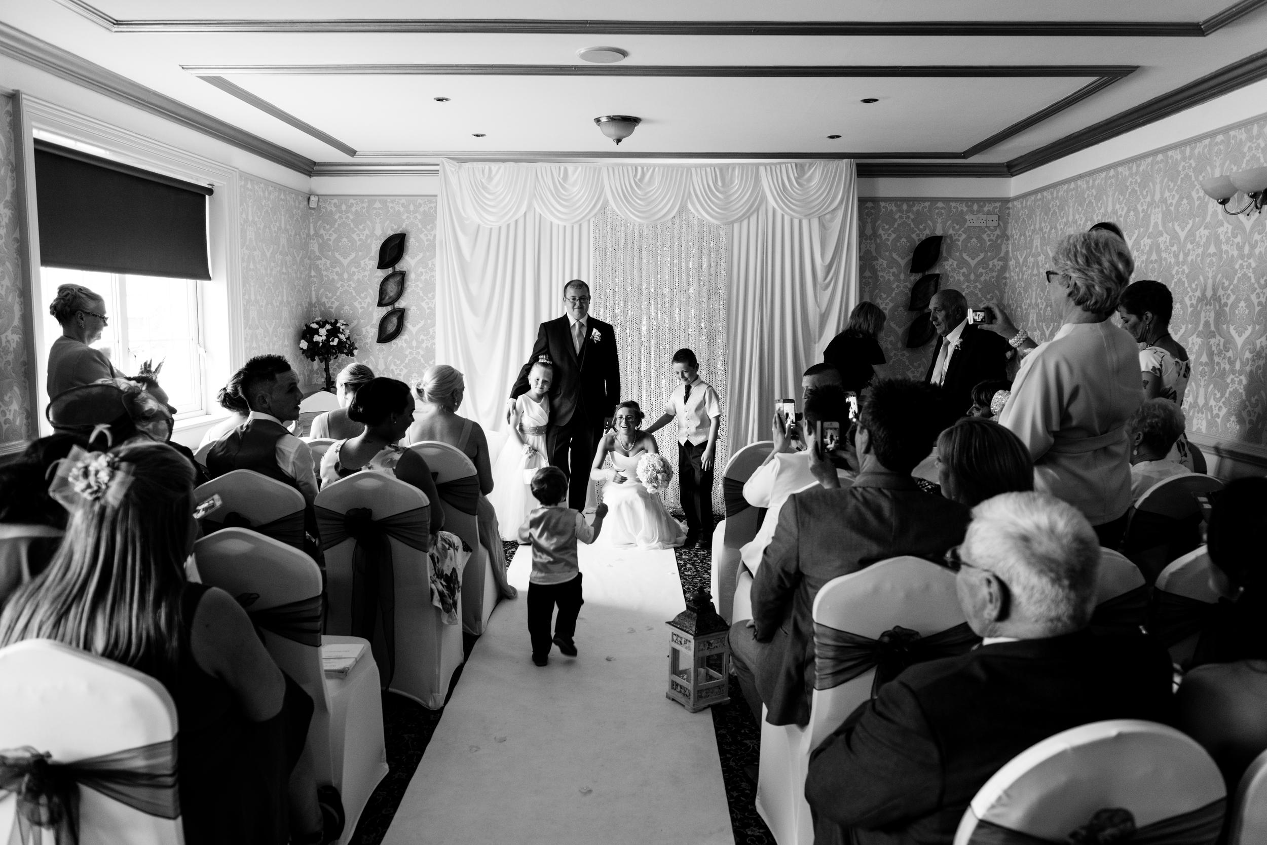 Ballymac_hotel_wedding_lisburn_bride_ceremony_over