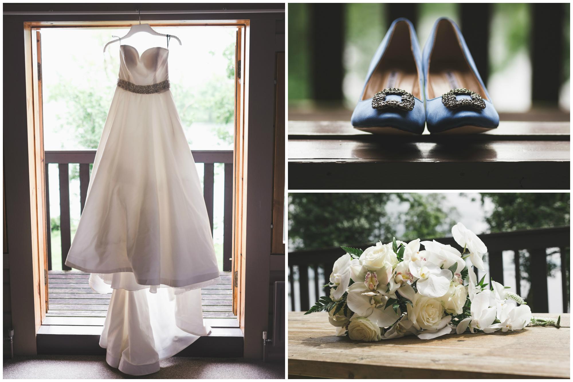 Lusty Beg Island Wedding Pure Photo N.I Dress Shoes Flowers