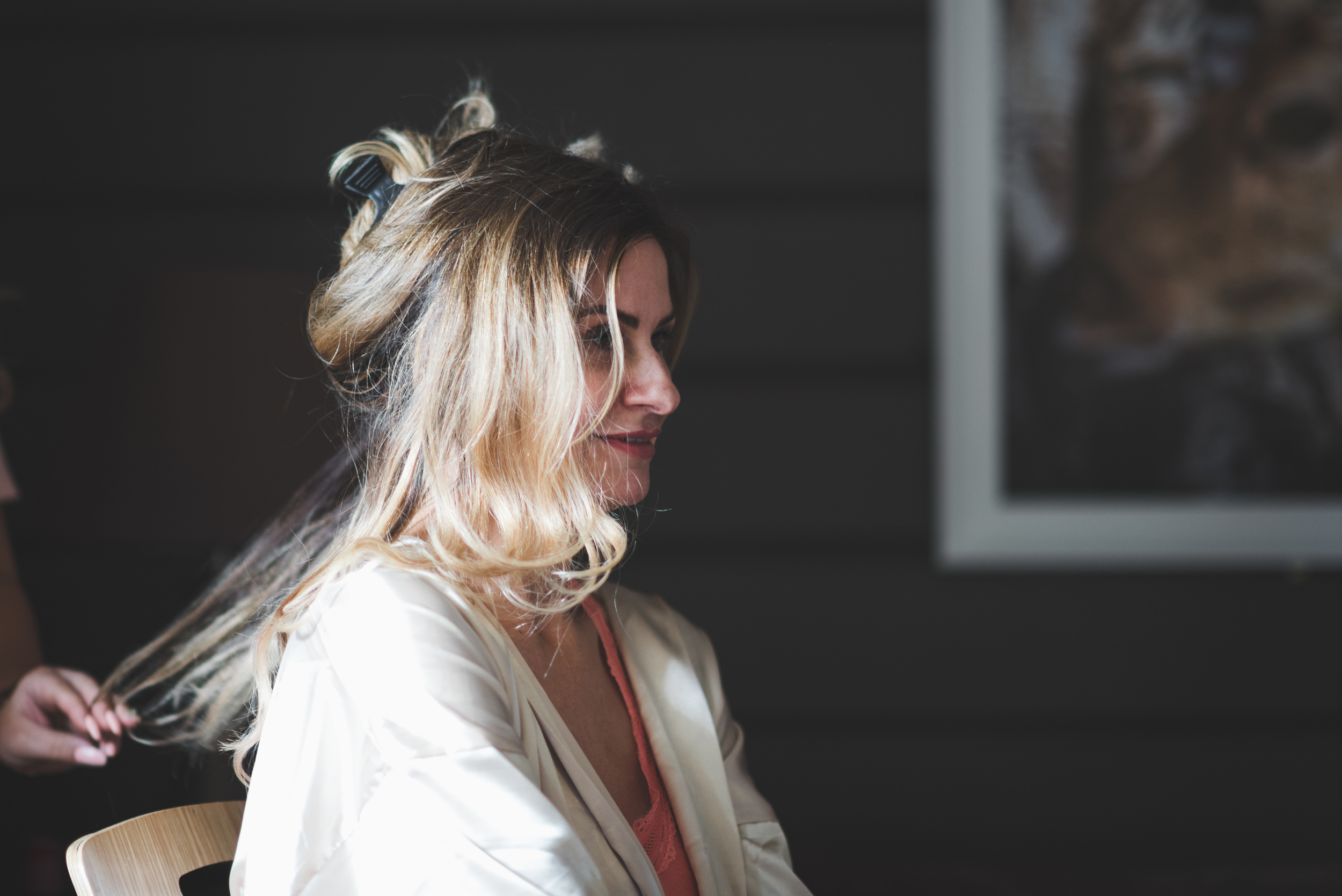 Lusty Beg Island Wedding Photographer Pure Photo N.I Bride Hair Styling