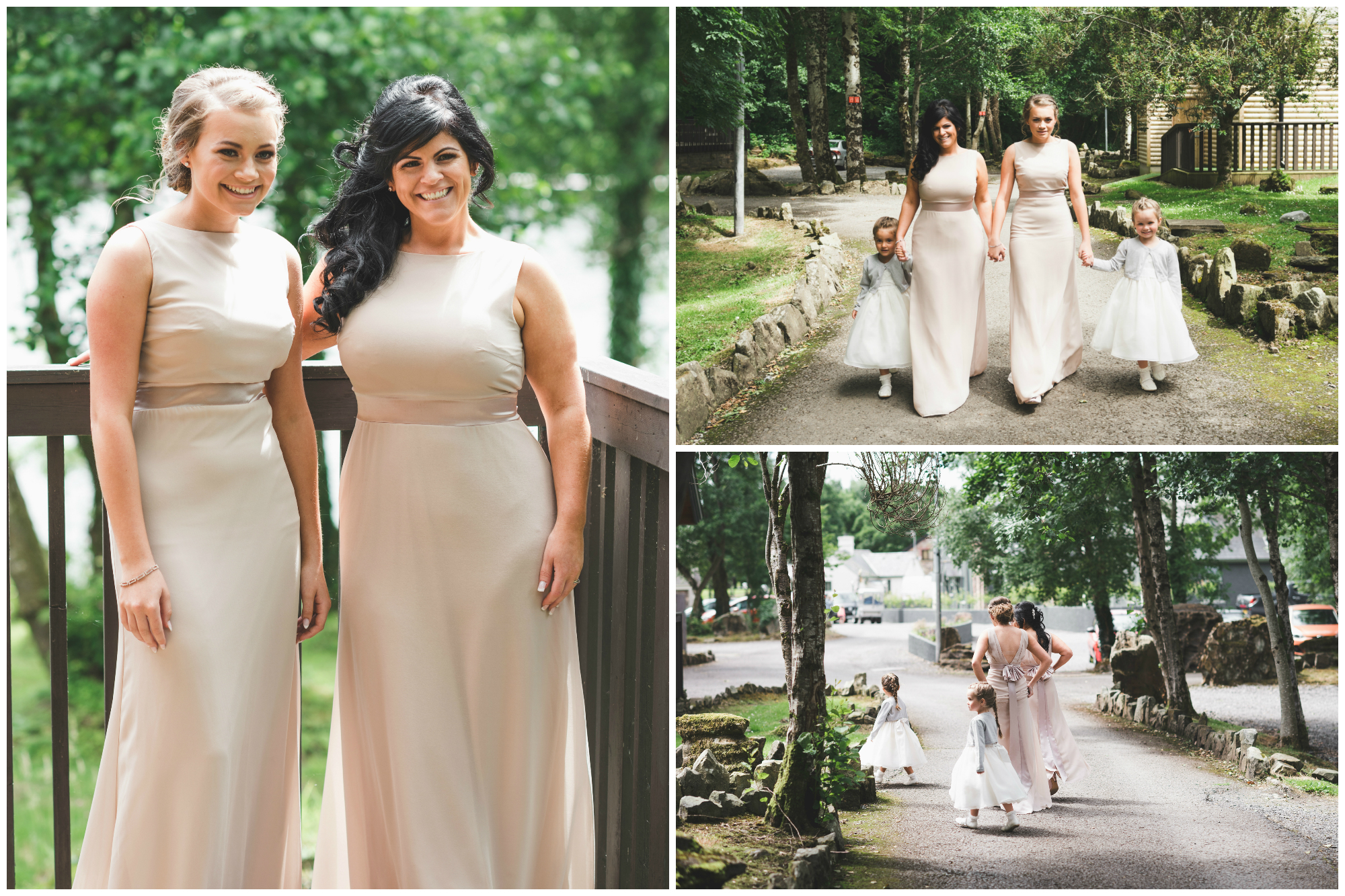 Lusty Beg Island Wedding Photographer Pure Photo N.I Bridesmaids ready