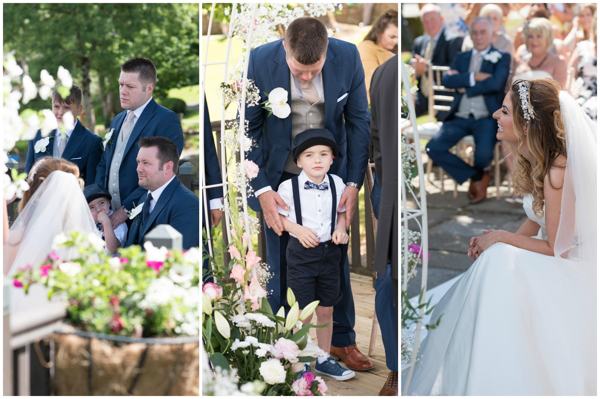 Lusty Beg Island Northern Ireland Wedding Photographers Pure Photo N.I Bride Groom Ceremony Portrait