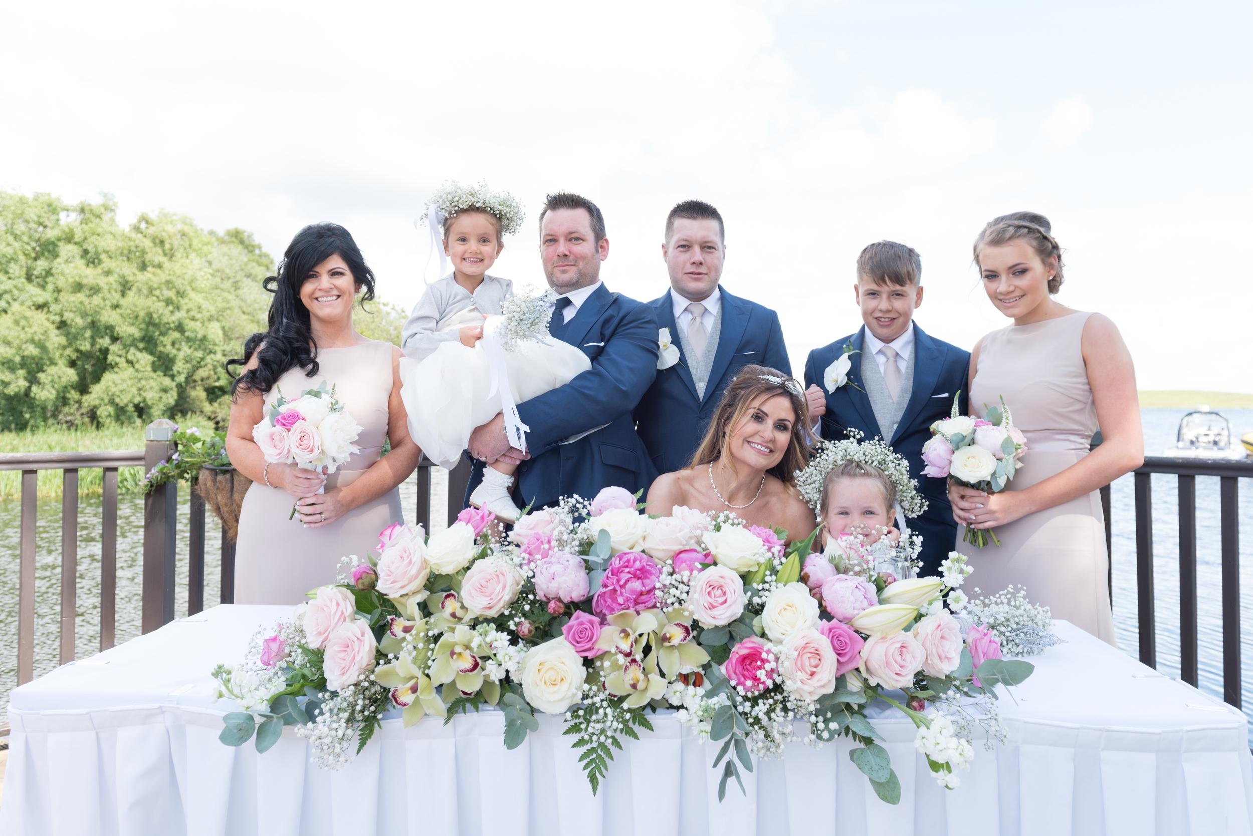 Lusty Beg Island Northern Ireland Wedding Photographers Pure Photo N.I Signing