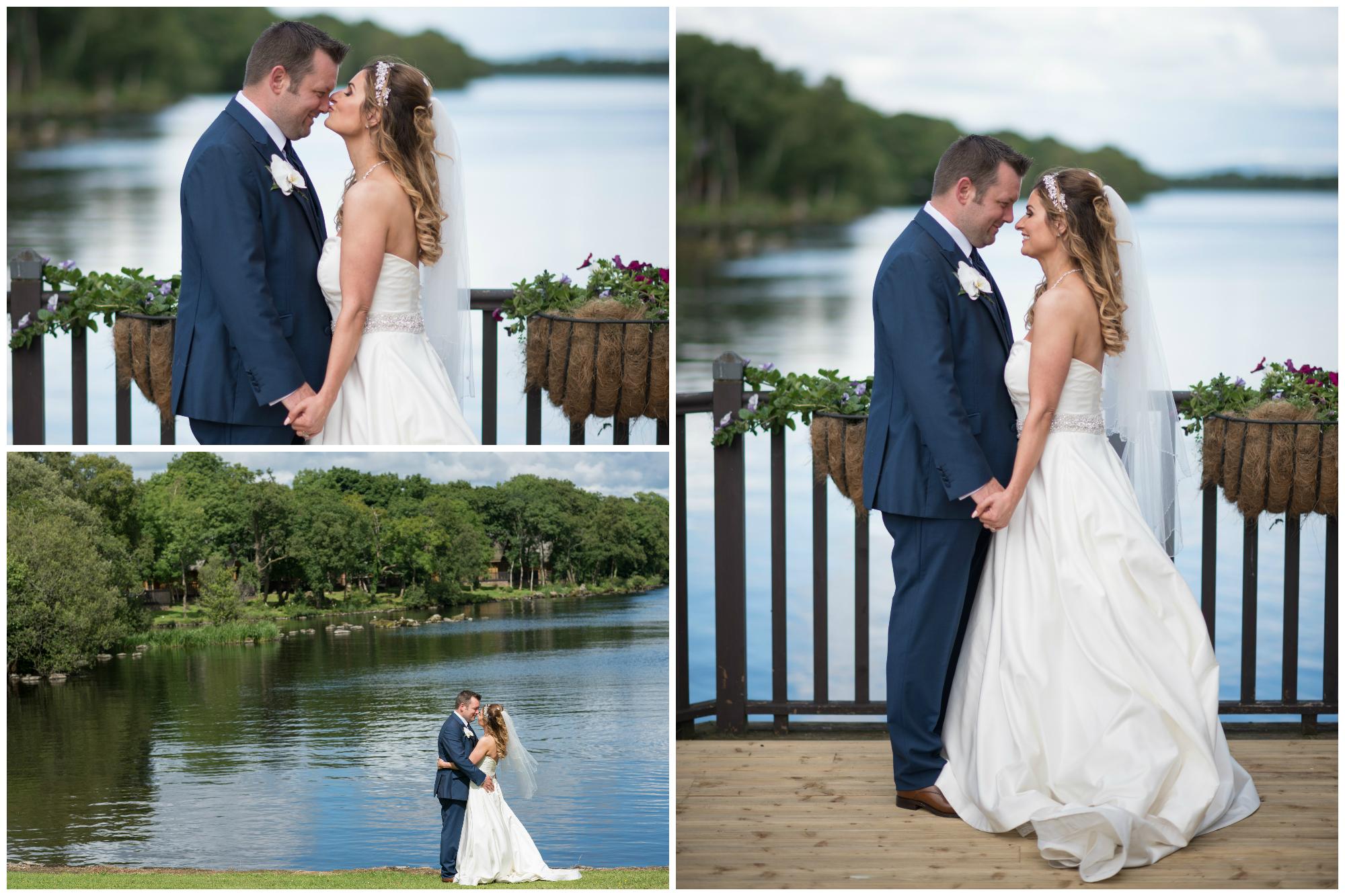 Lusty Beg Island Northern Ireland Wedding Photographers Pure Photo Bride and Groom portraits