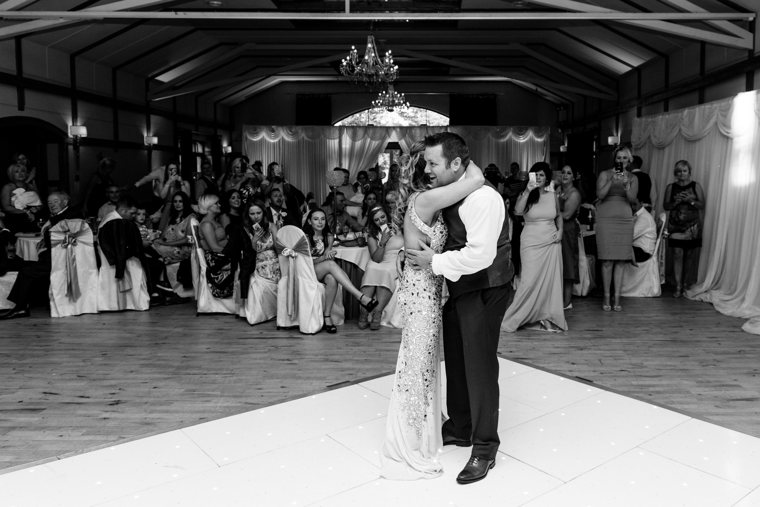 Lusty Beg Island Northern Ireland Wedding Photographers Pure Photo N.I groom dancing