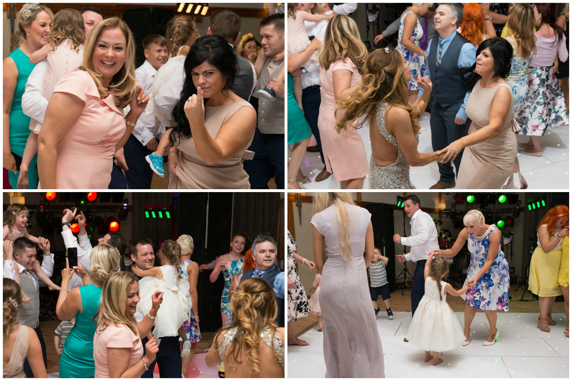 Lusty Beg Island Northern Ireland Wedding Photographer Pure Photo N.I the dancing