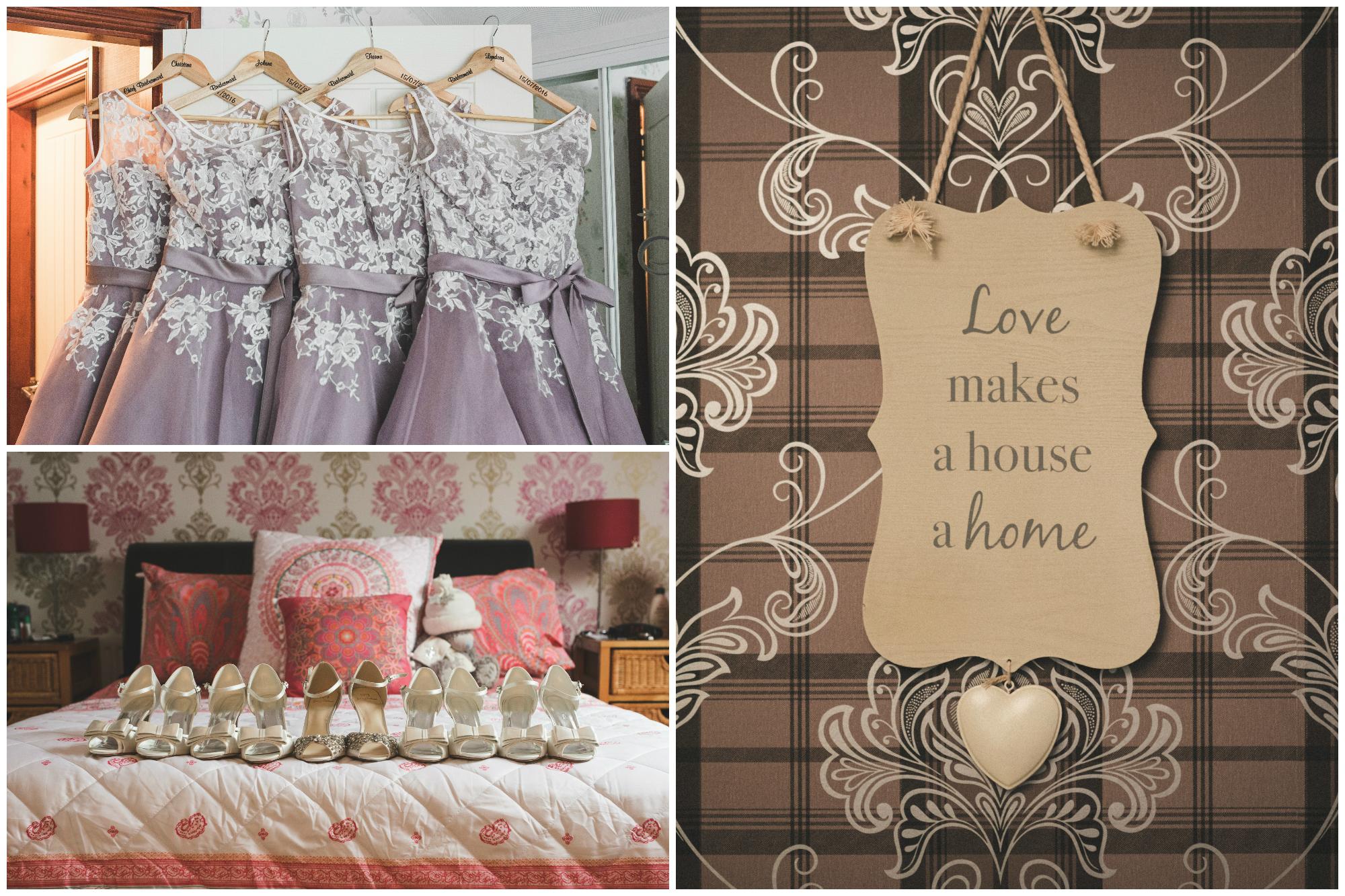 Belfast Wedding Photographer purephotoni Ramada Plaza bridesmaid dress shoes