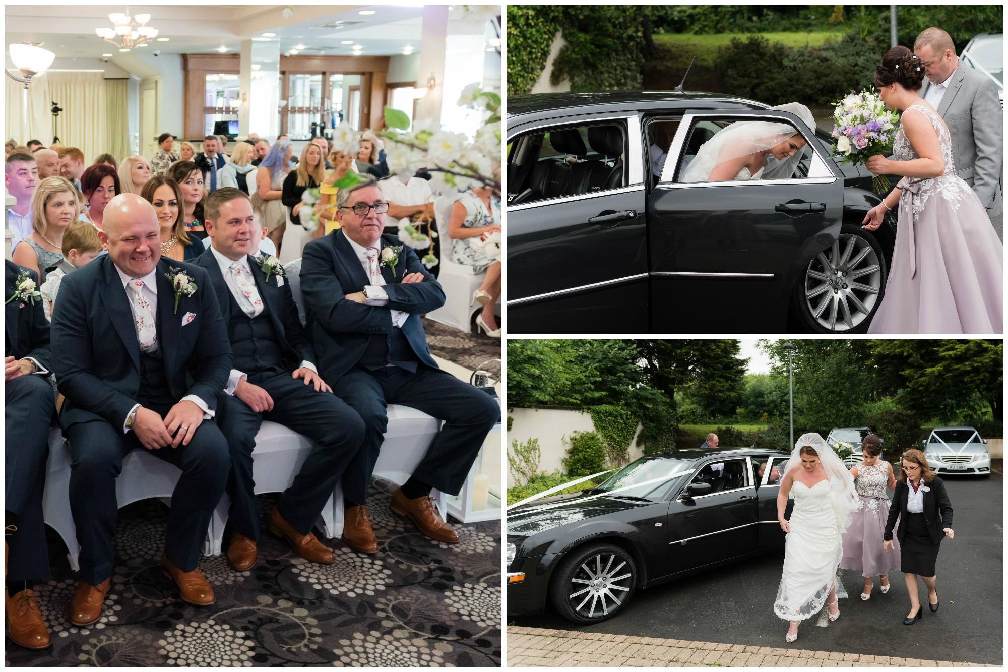 Belfast Wedding Photographer purephotoni Ramada Plaza waits on bride