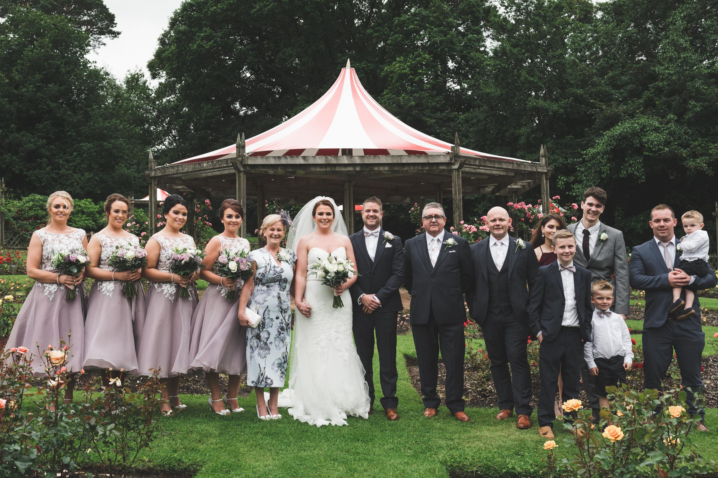 Belfast Wedding Photographer purephotoni lady dixons park bridal party