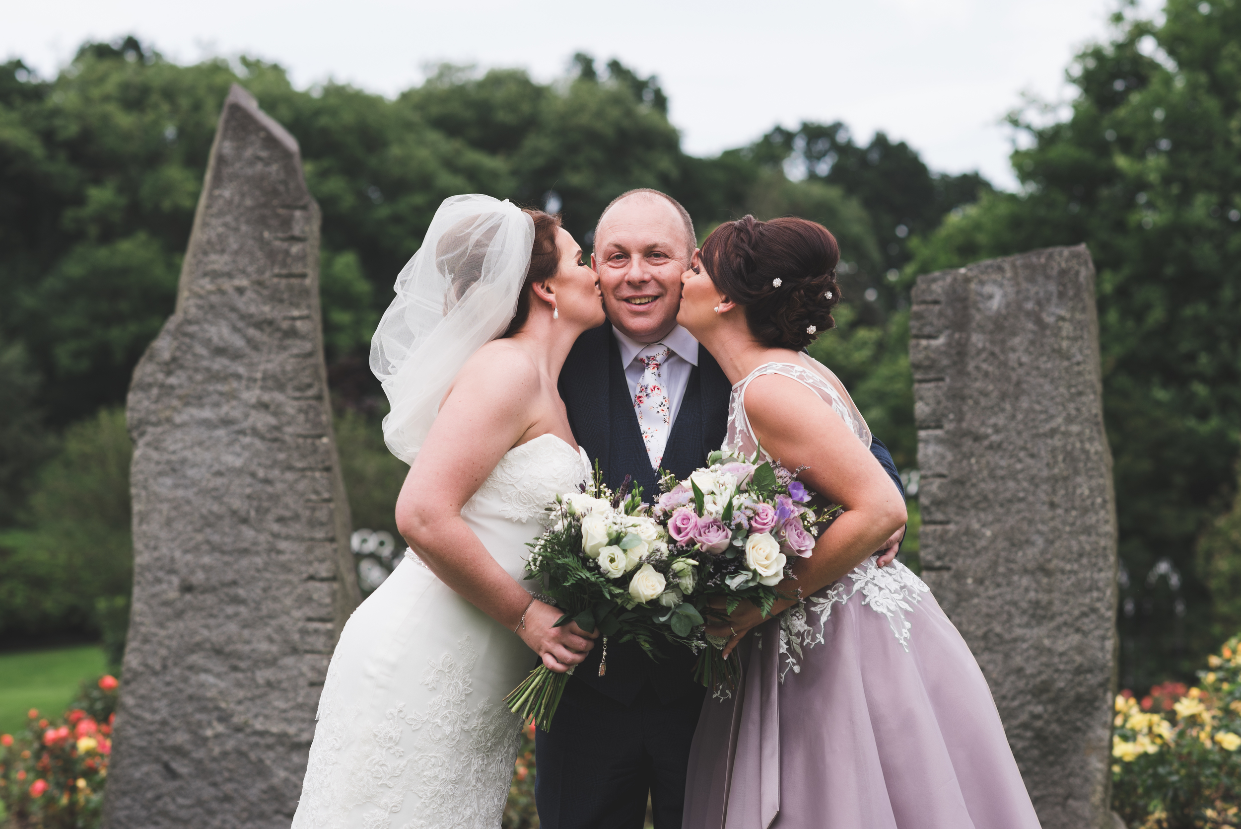 Belfast Wedding Photographer purephotoni lady dixons park family dad daughters
