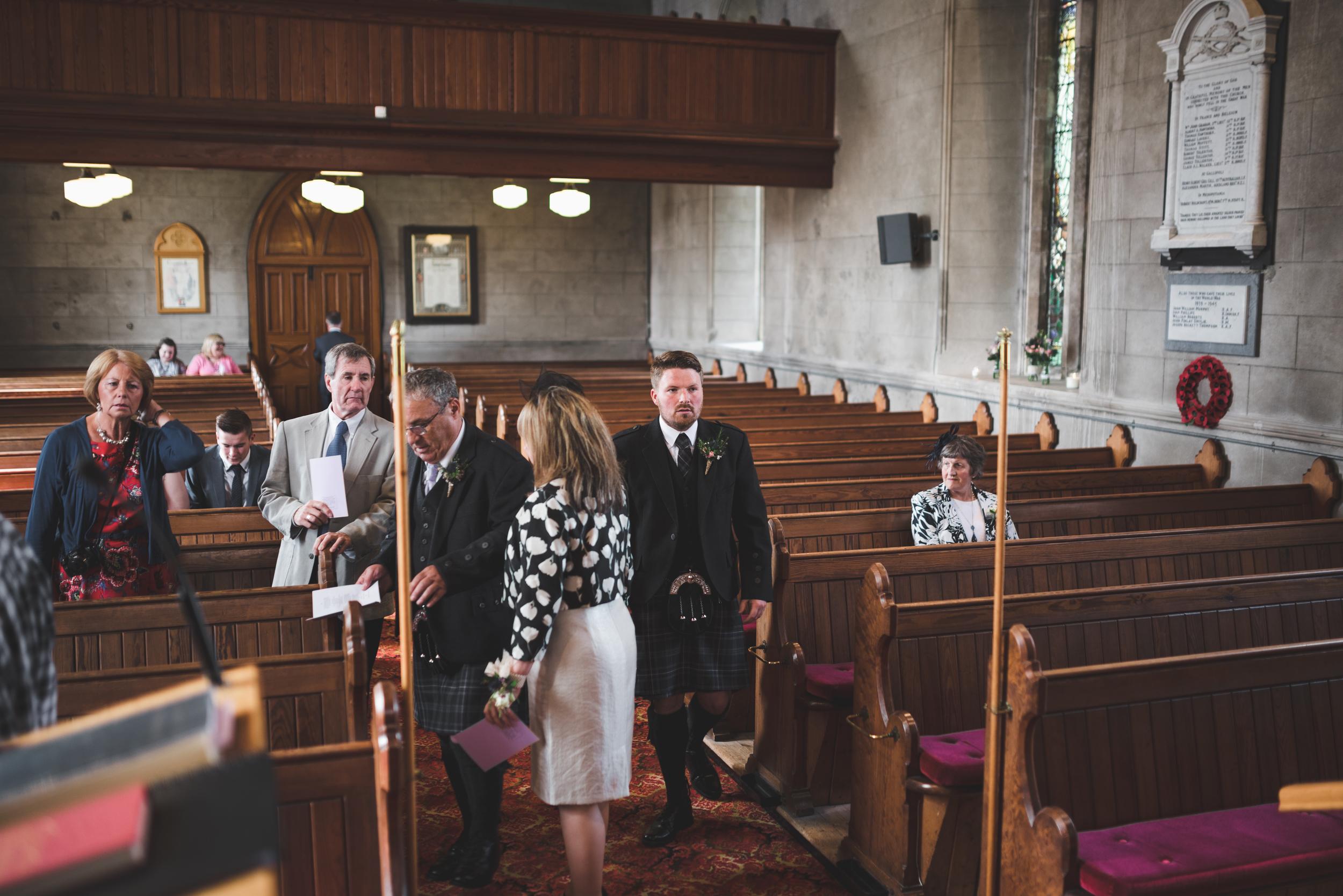 Lisburn Wedding Photographer Pure Photo N.I Magheragall Parish Church Groom arrival