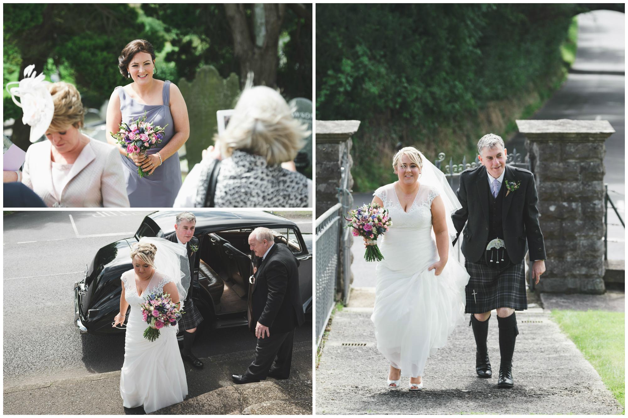 Lisburn Wedding Photographer Pure Photo N.I Magheragall Parish Church bridal car
