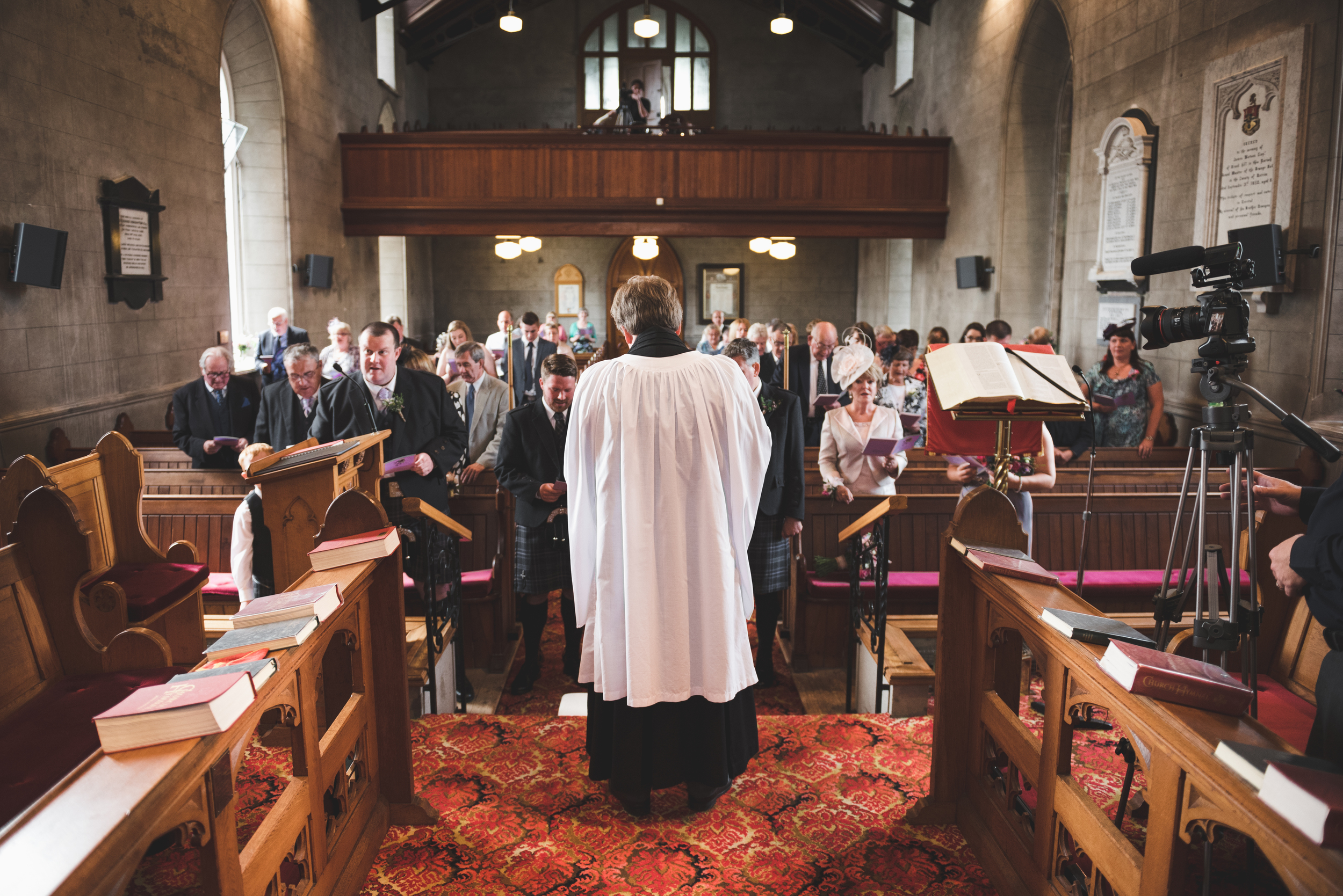 Lisburn Wedding Photographer Pure Photo N.I Magheragall Parish Church ceremony