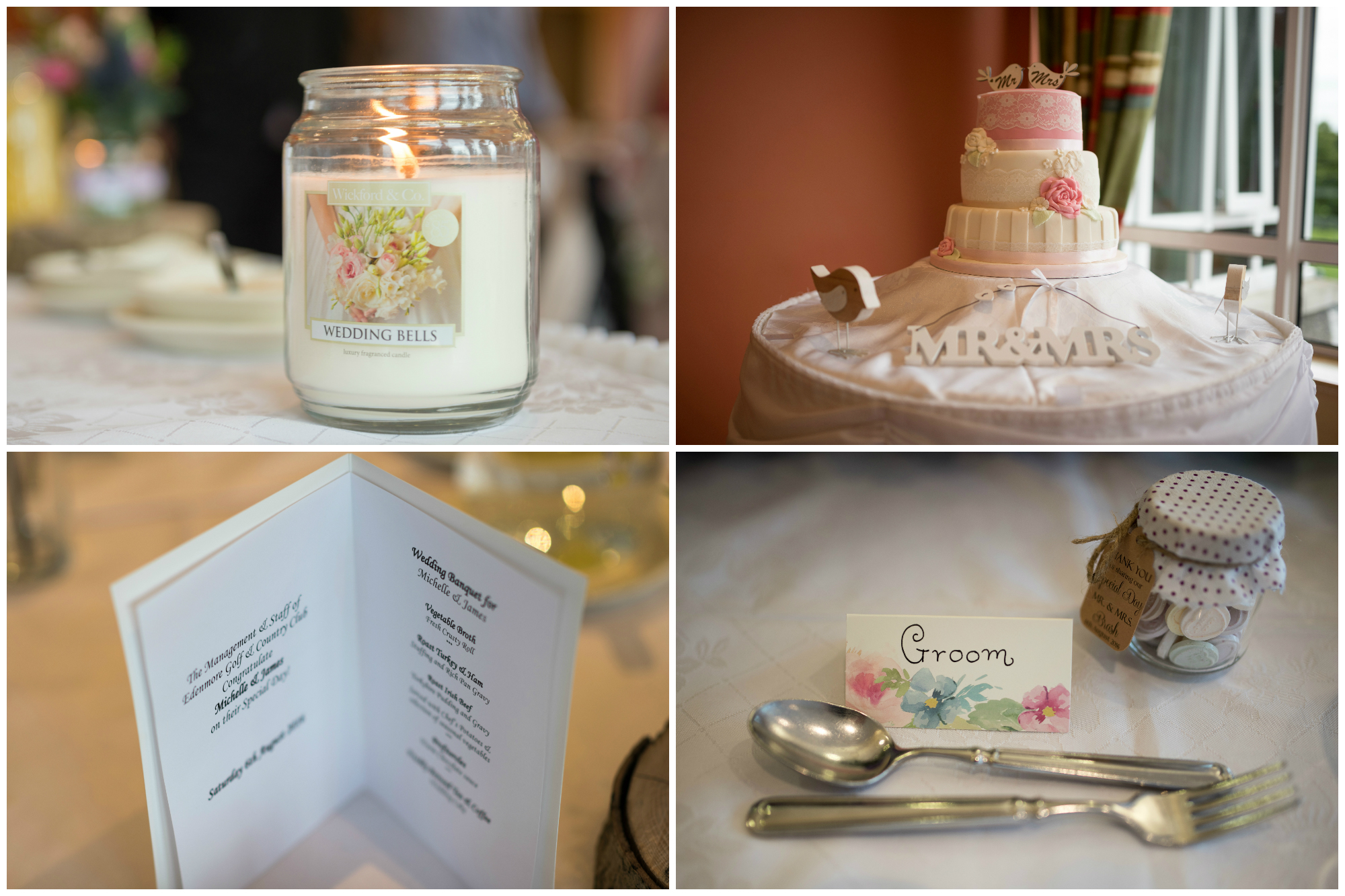 Lisburn Wedding Photographer Pure Photo N.I Edenmore Country Club room