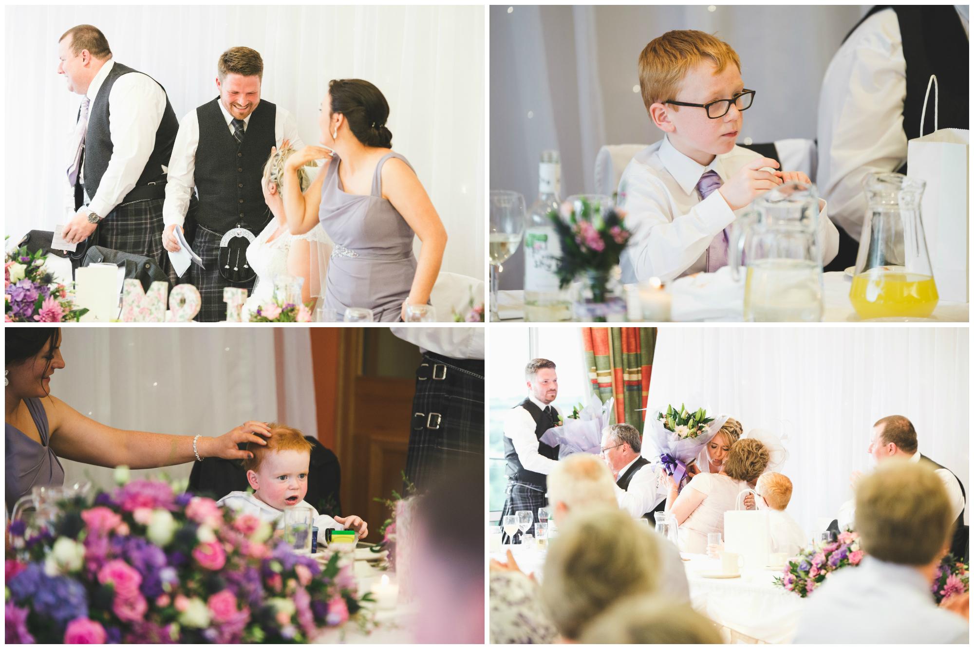 Lisburn Wedding Photographer Pure Photo N.I Edenmore Country Club speech reactions