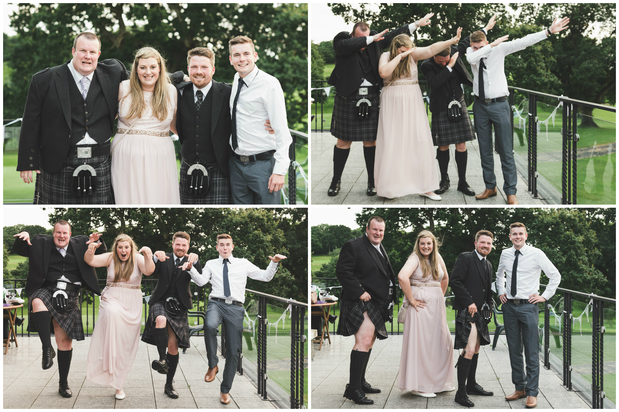 Lisburn Wedding Photographer Pure Photo N.I Edenmore Country Club grooms friends