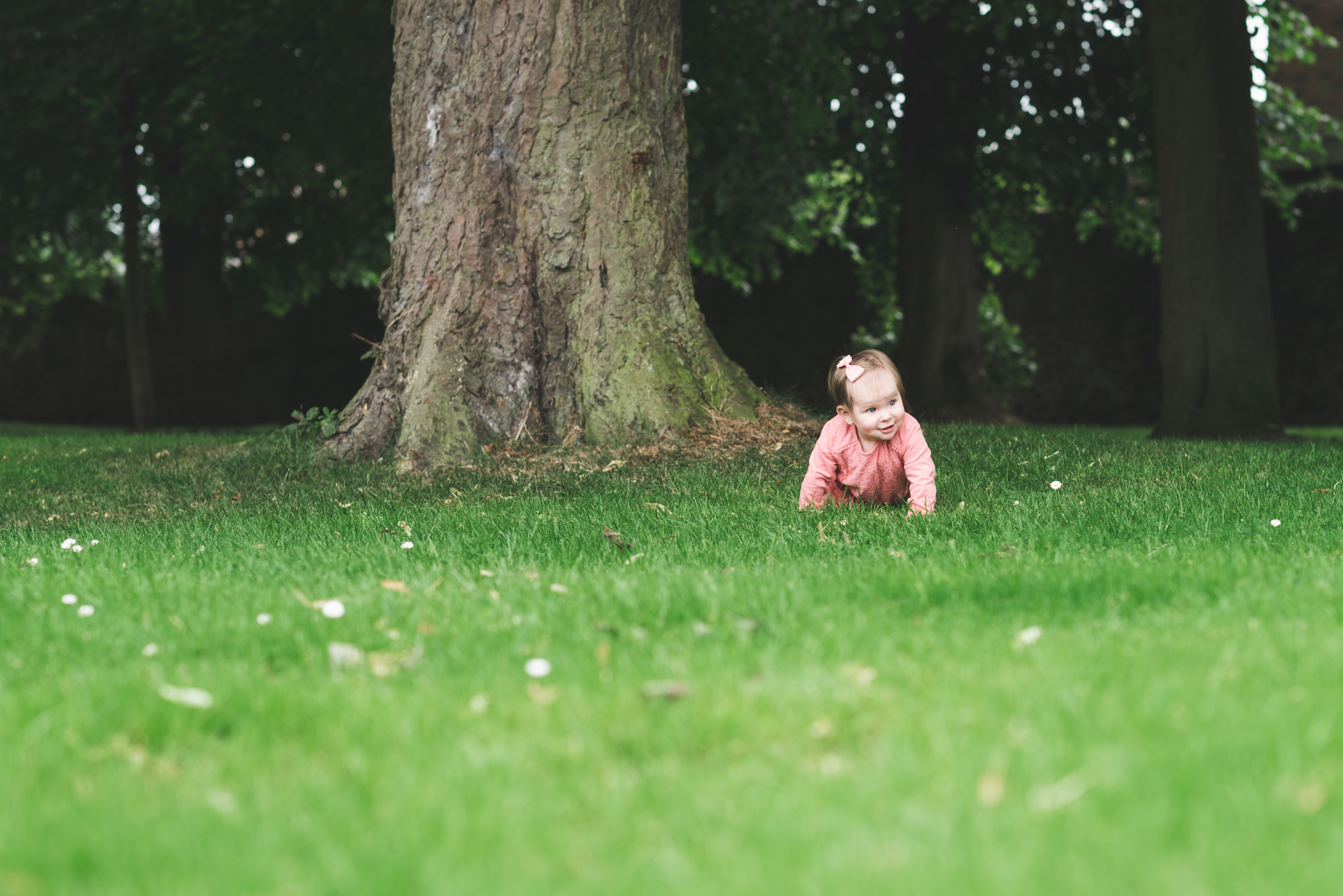 Family Portrait session Pure Photo N.I Lurgan Park Daughter