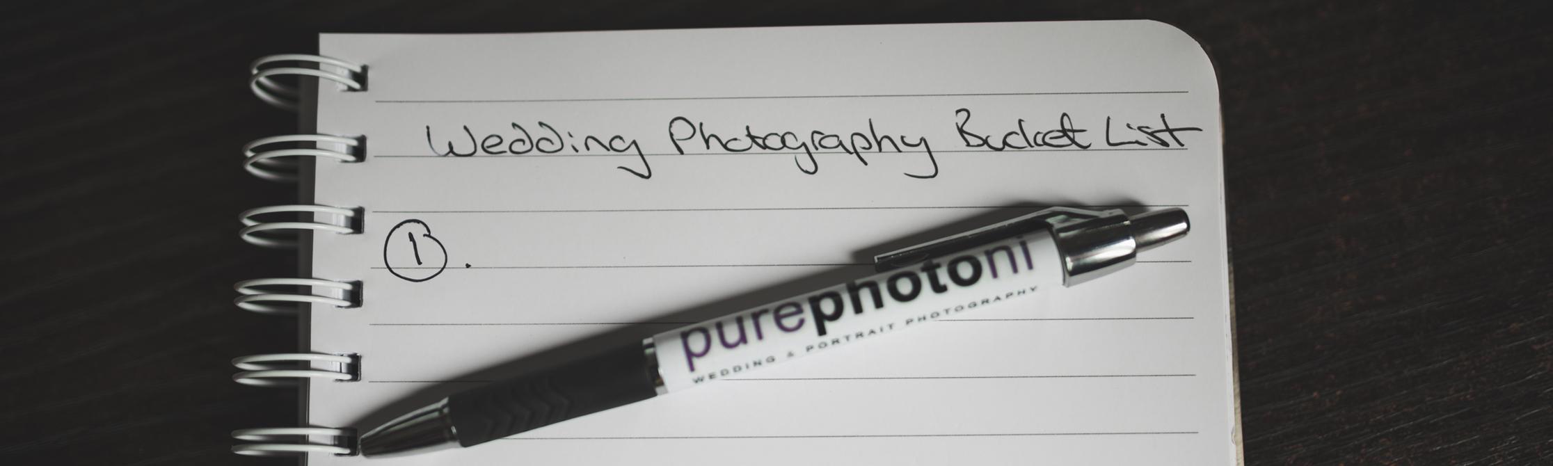 Northern Ireland Wedding Photography Pure Photo N.I Bucket List