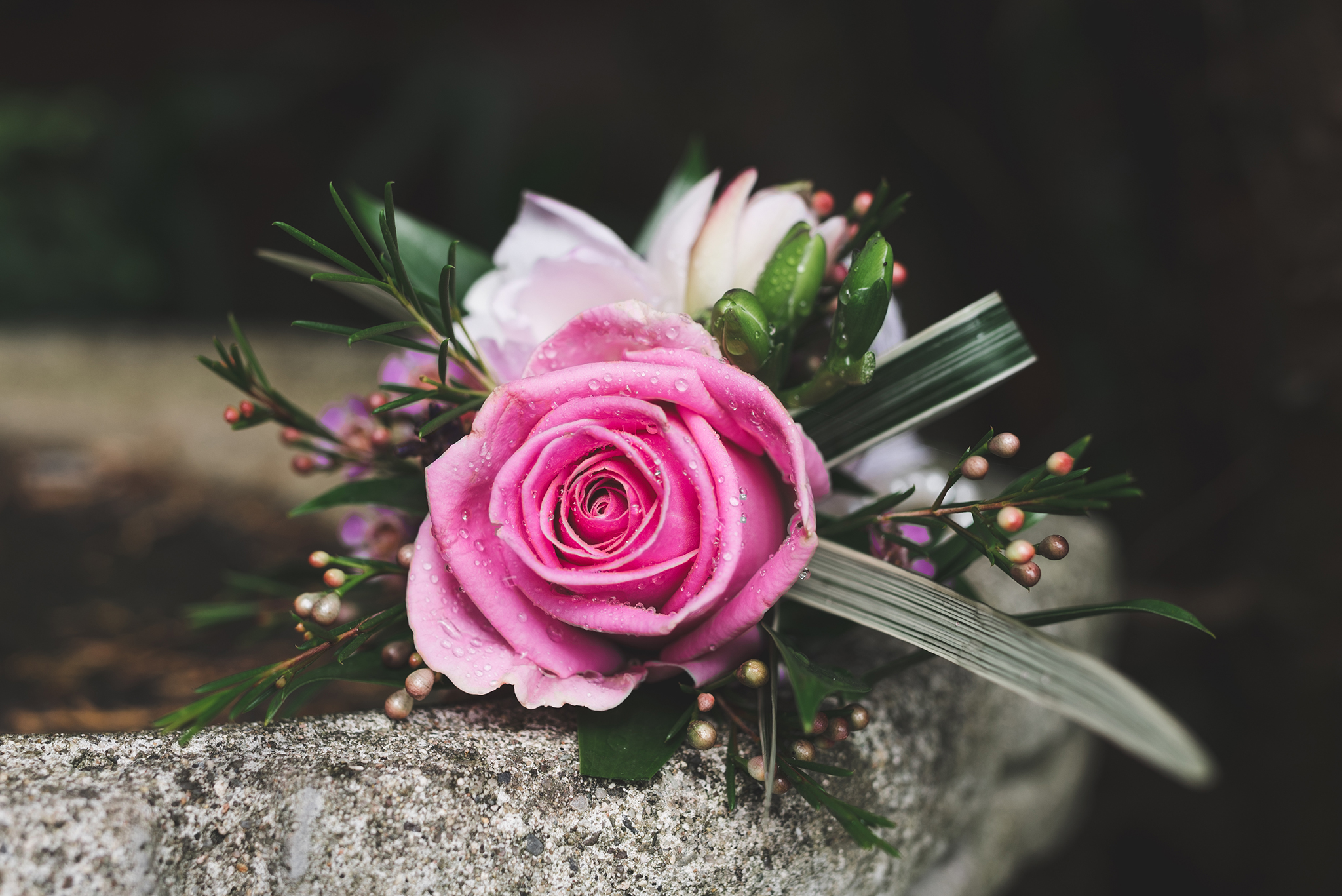 Lisburn Wedding Groom's buttonhole