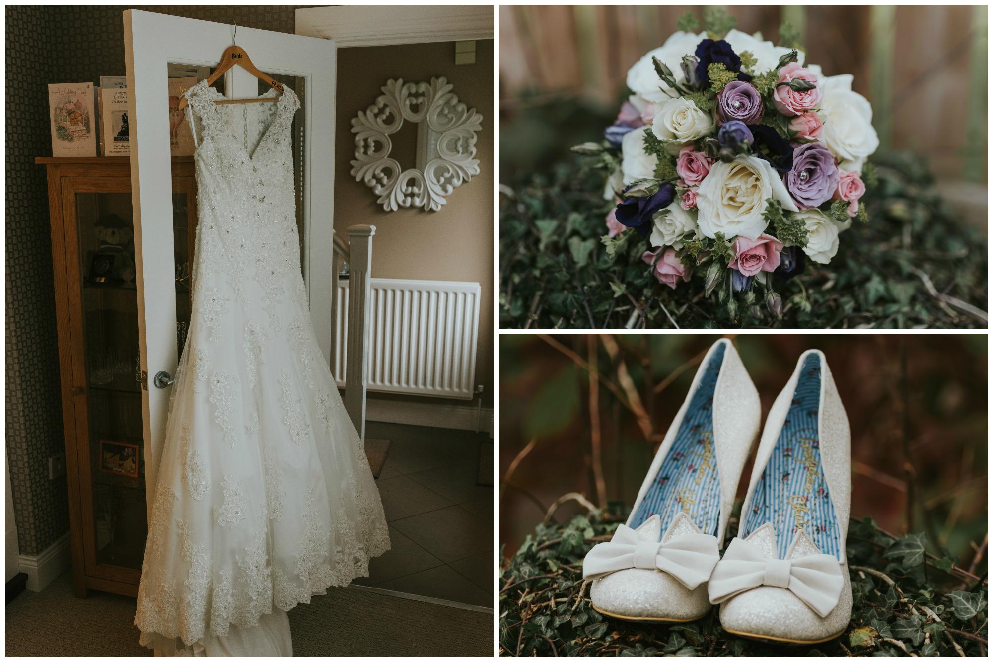 Limavady Wedding Pure Photo N.I Dress Shoes Flowers