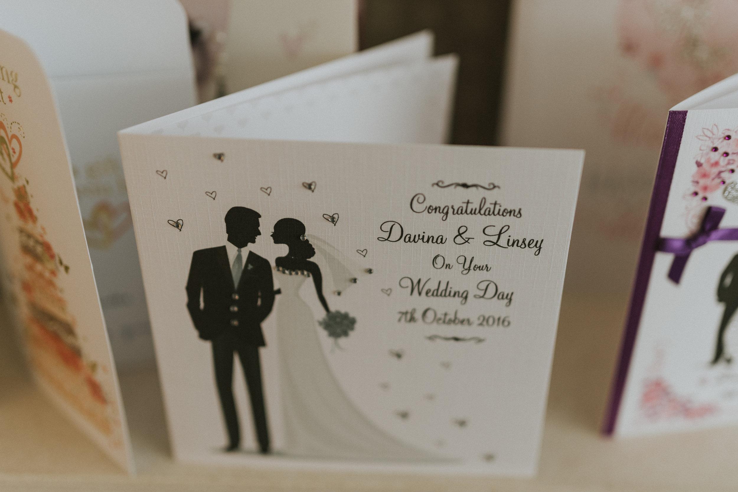 Limavady Wedding Pure Photo N.I congratulations card