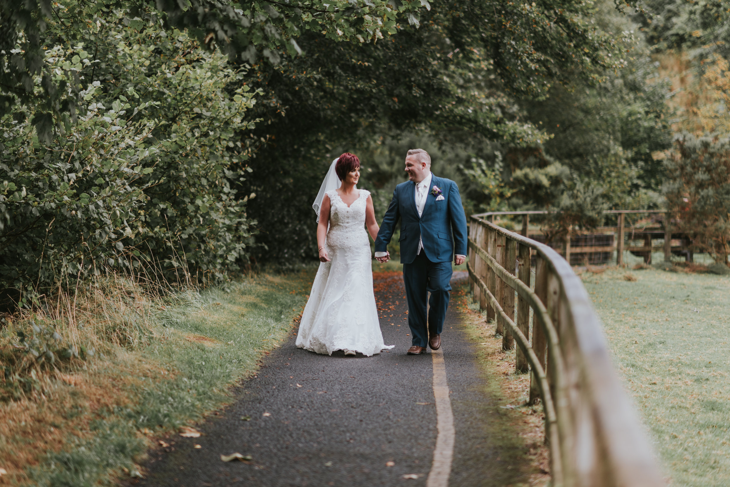 Roe Park Wedding Photographer Pure Photo N.I bride and groom
