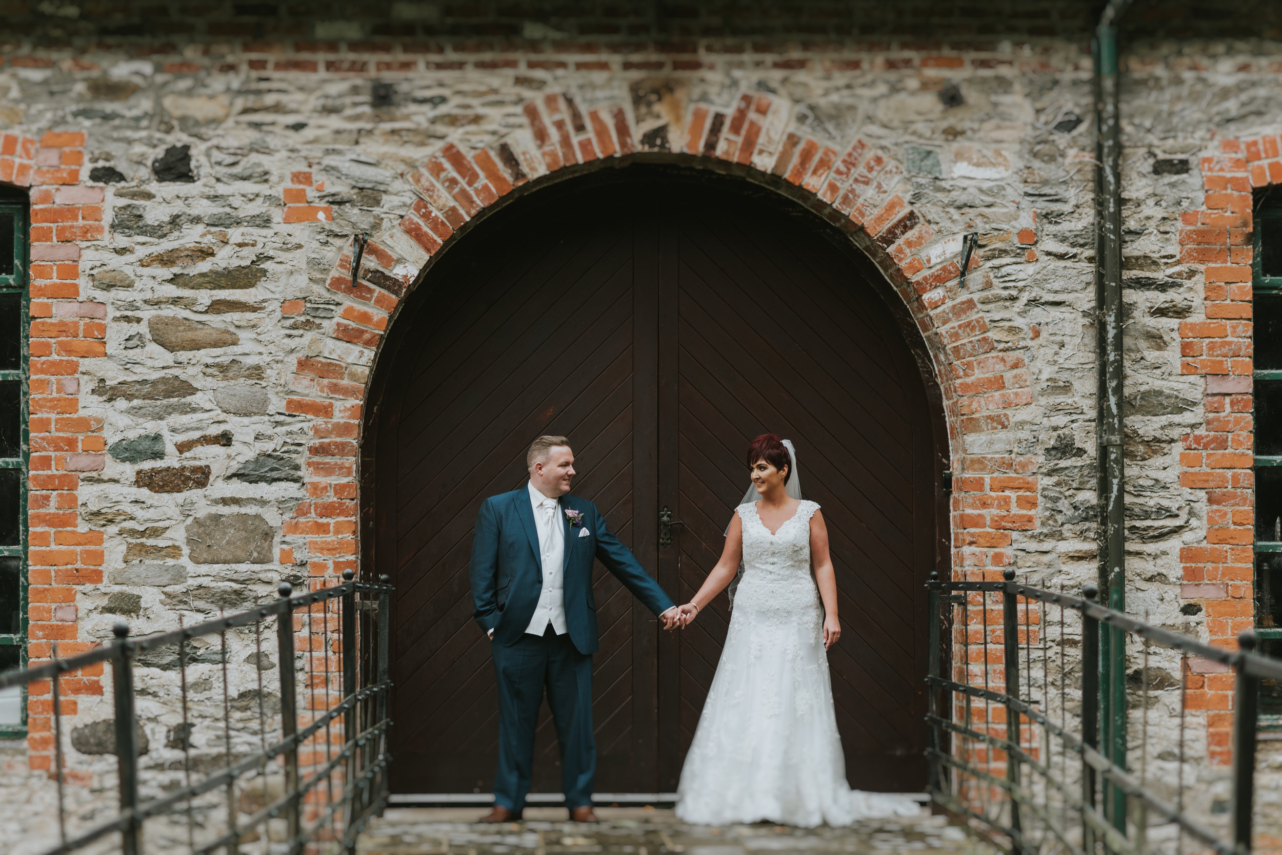 Roe Park Wedding Photography by Pure Photo N.I bride and groom portrait