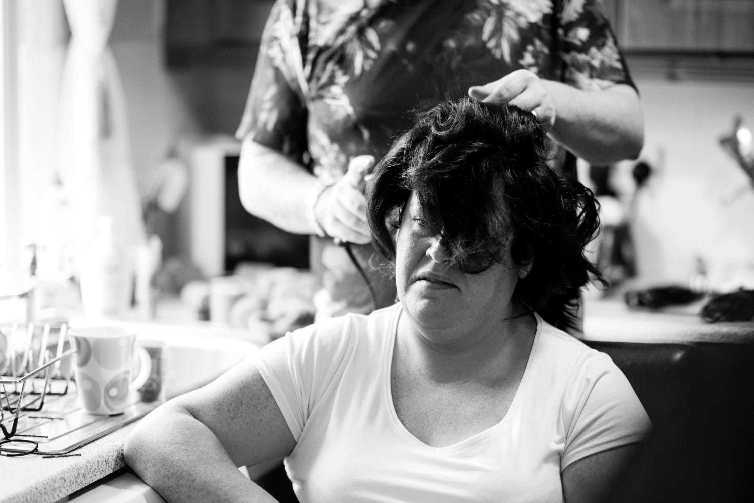 belfast wedding photographer pure photo n.i brides hairstyling