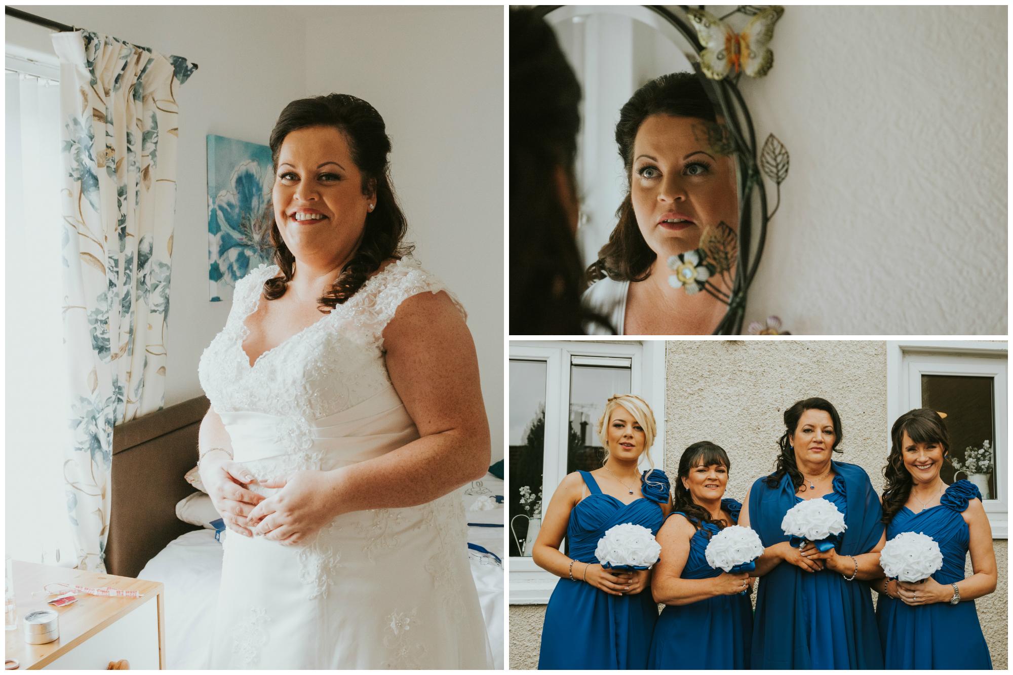 belfast wedding photographer pure photo n.i bride ready