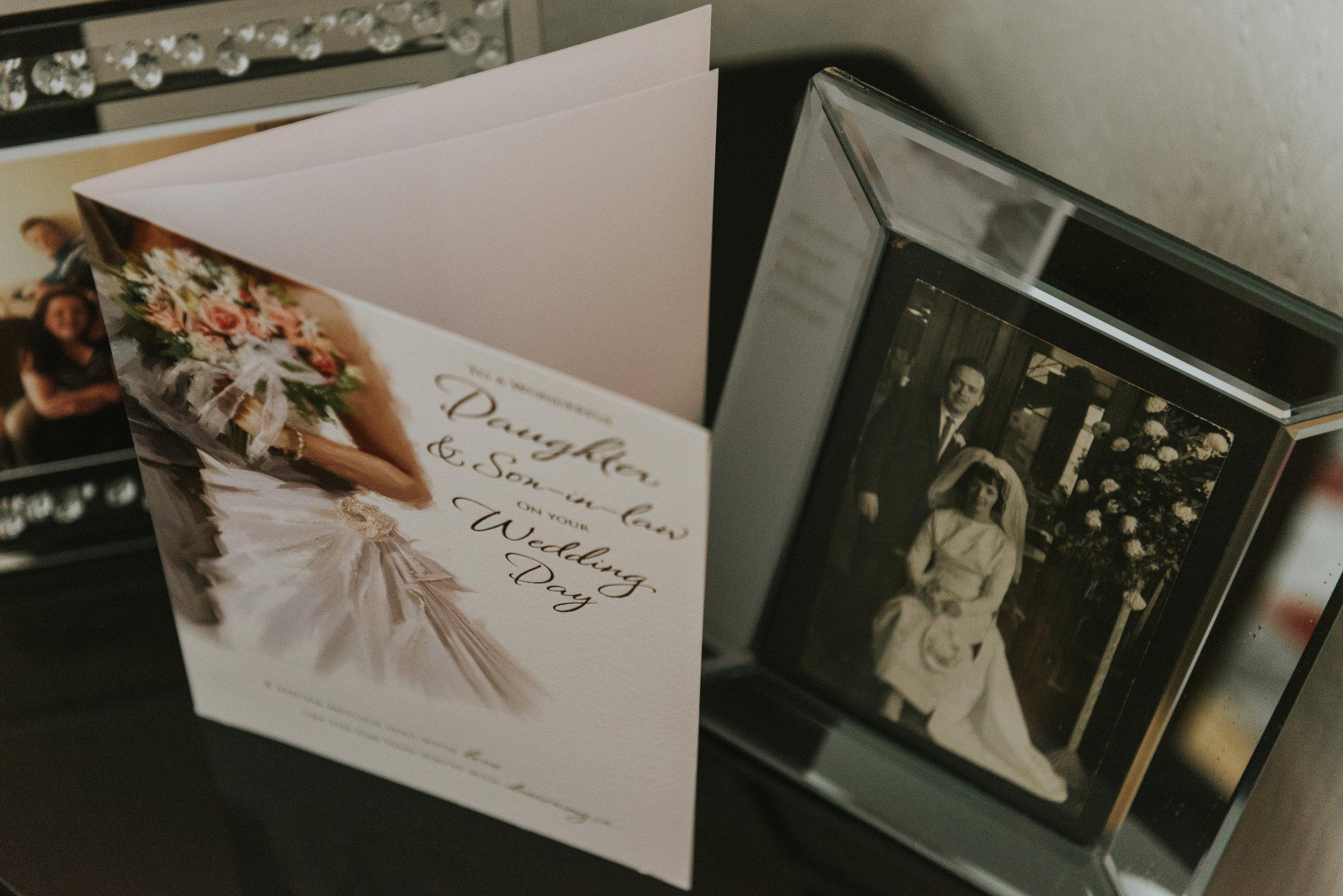 belfast wedding photographer pure photo n.i congratulations card
