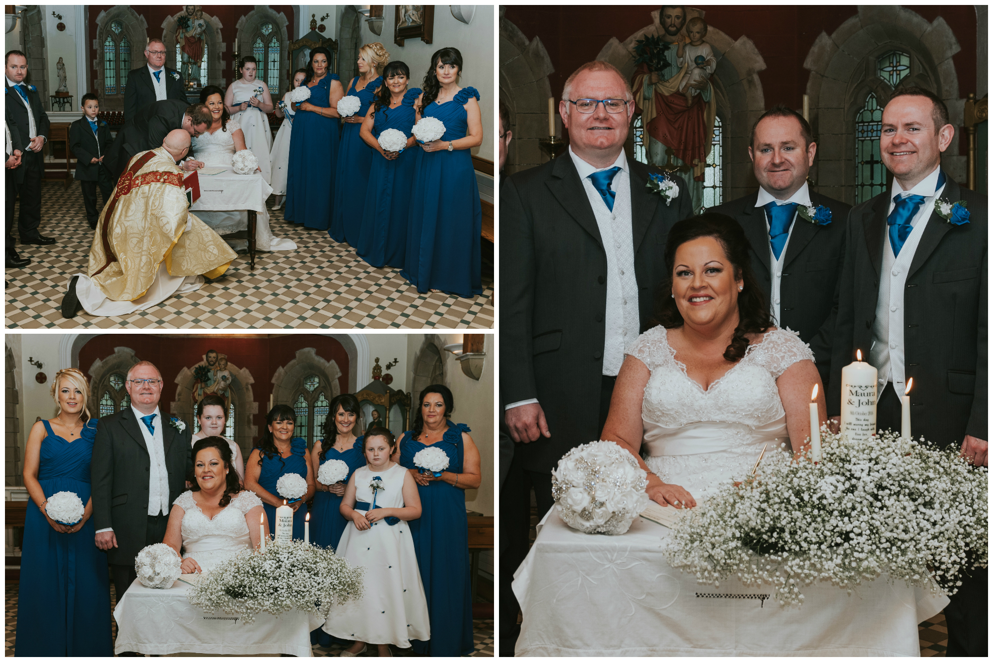 St. Pauls belfast wedding photographer pure photo n.i signing