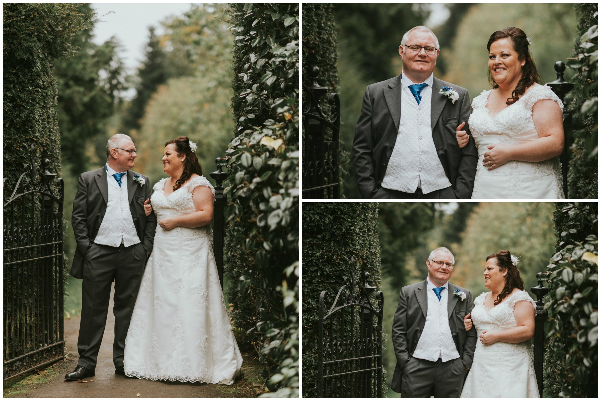 Lady dixon park belfast wedding photographer pure photo n.i portrait bride and groom
