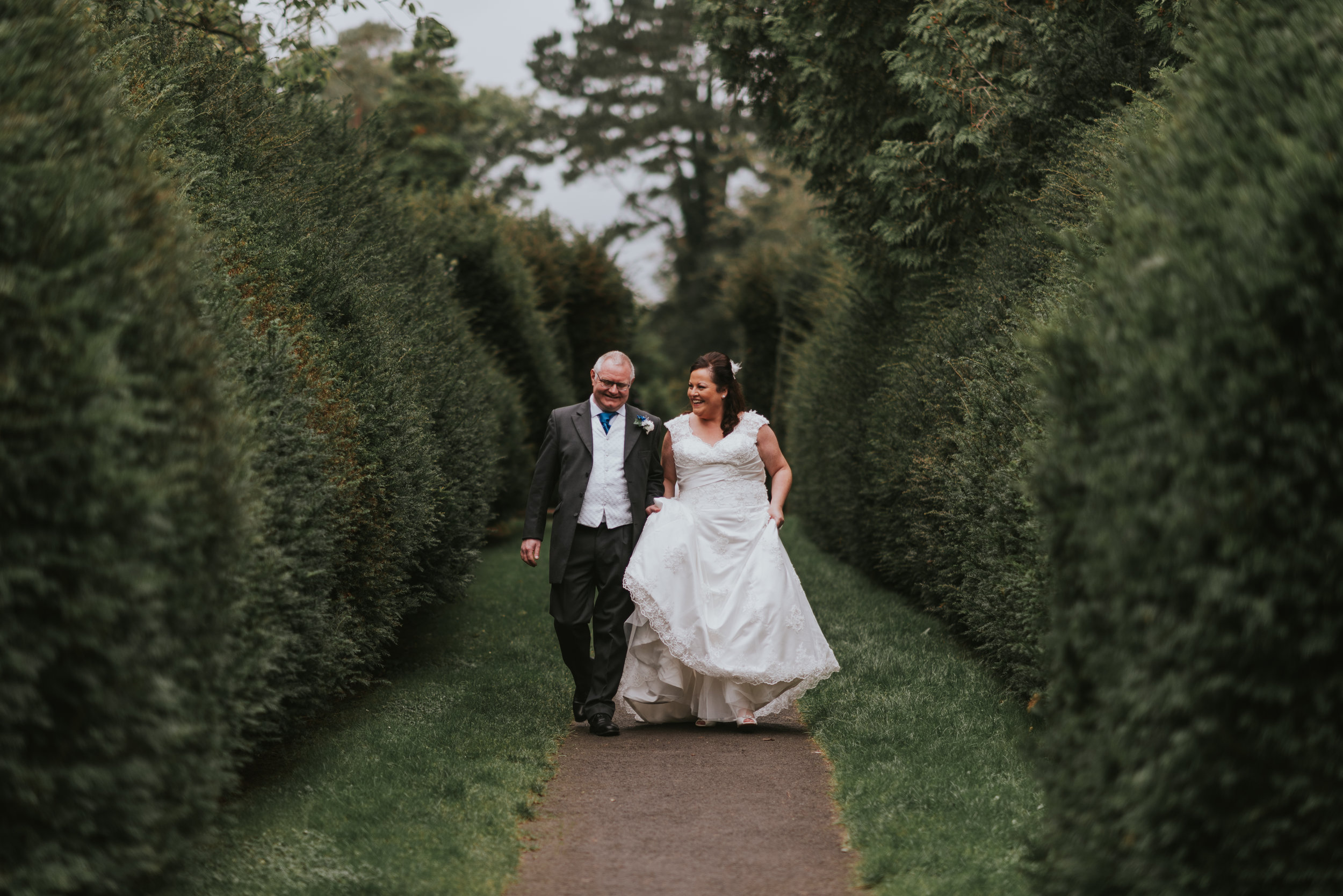 Lady dixon park belfast wedding photographer pure photo n.i portraits bride and groom