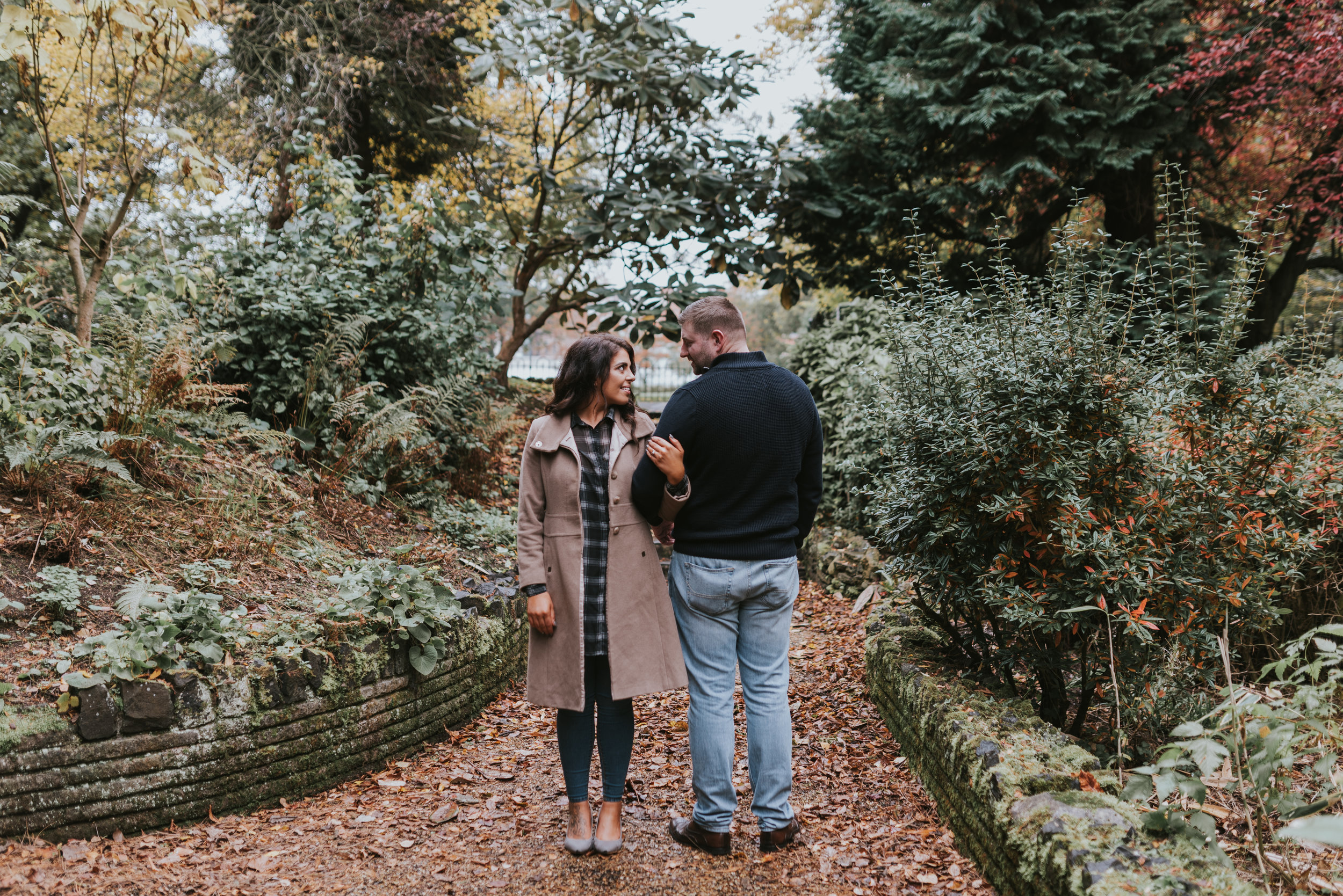 Pure Photo N.I botanic gardens engagement session in Belfast