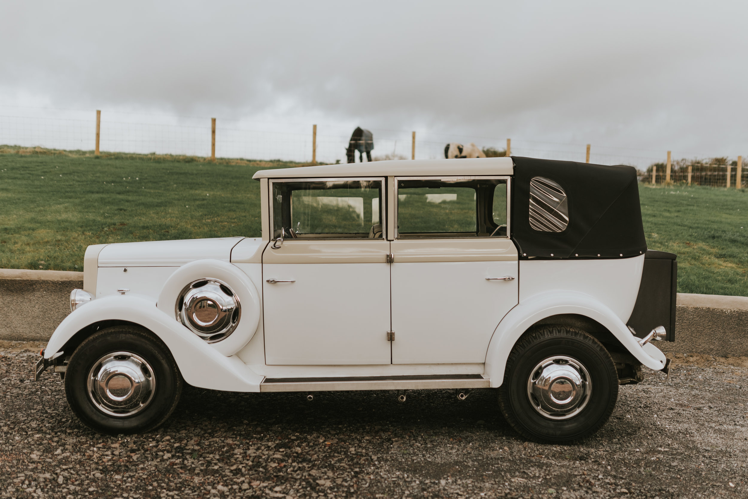 tullyglass house hotel wedding car