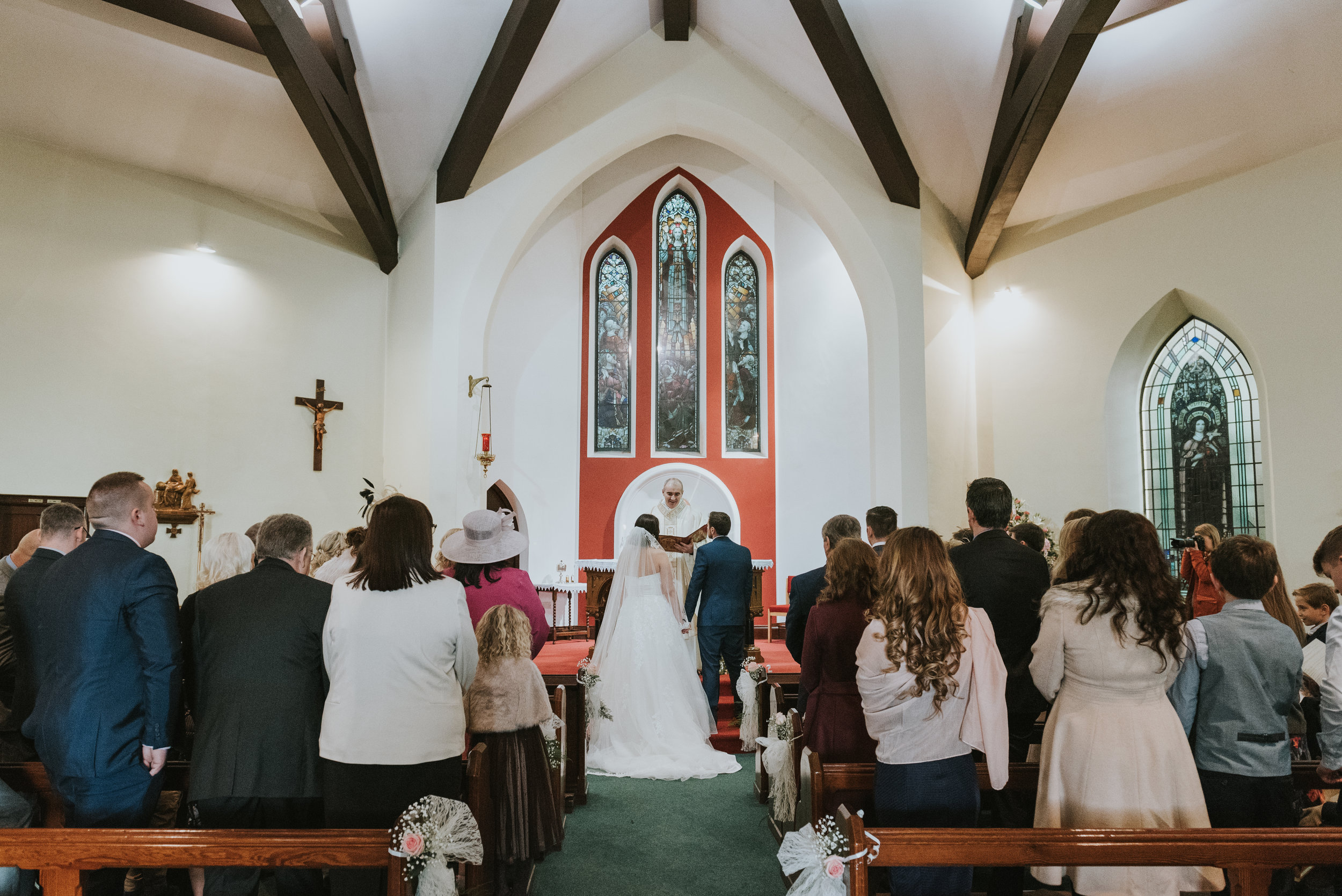 Tullyglass House Hotel Wedding vows