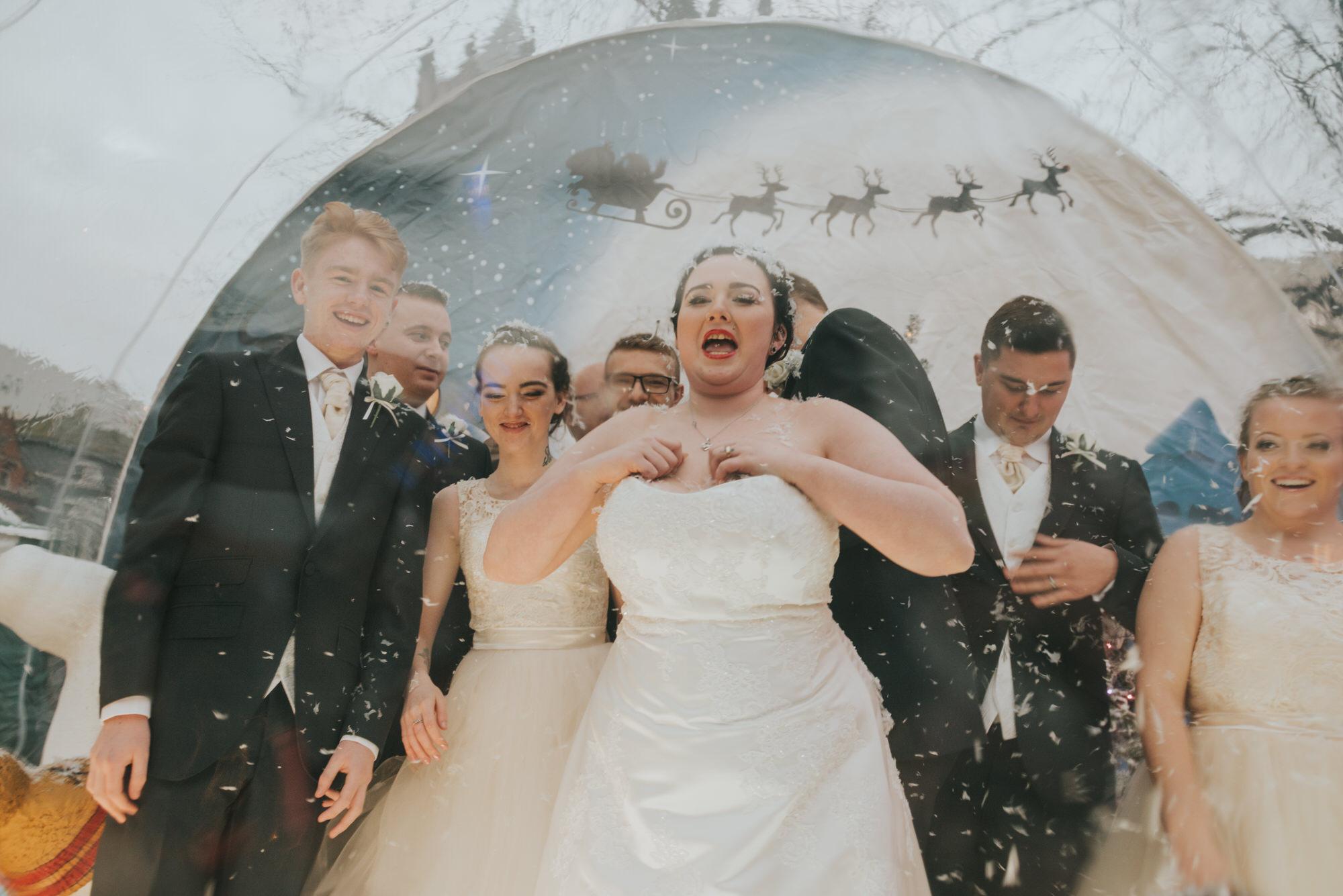 ten square hotel wedding ceremony belfast christmas market