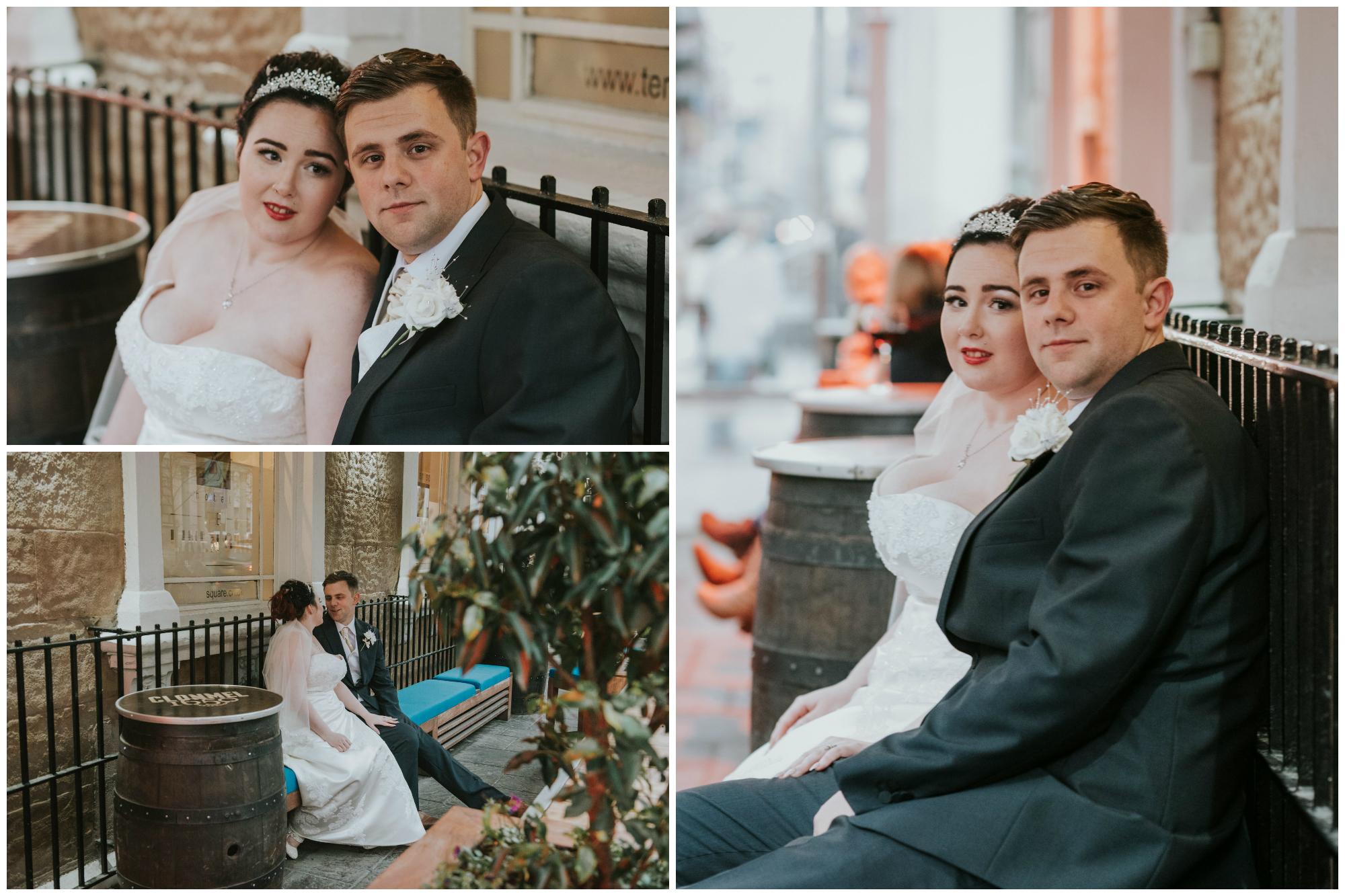wedding photographs ten square hotel belfast