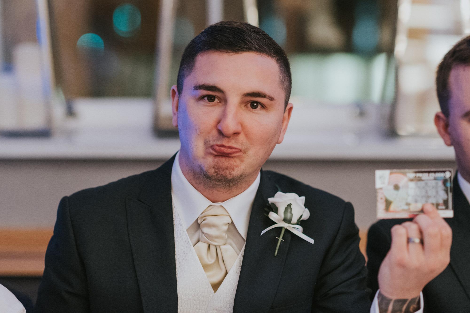 wedding photographer belfast ten square hotel scratch cards