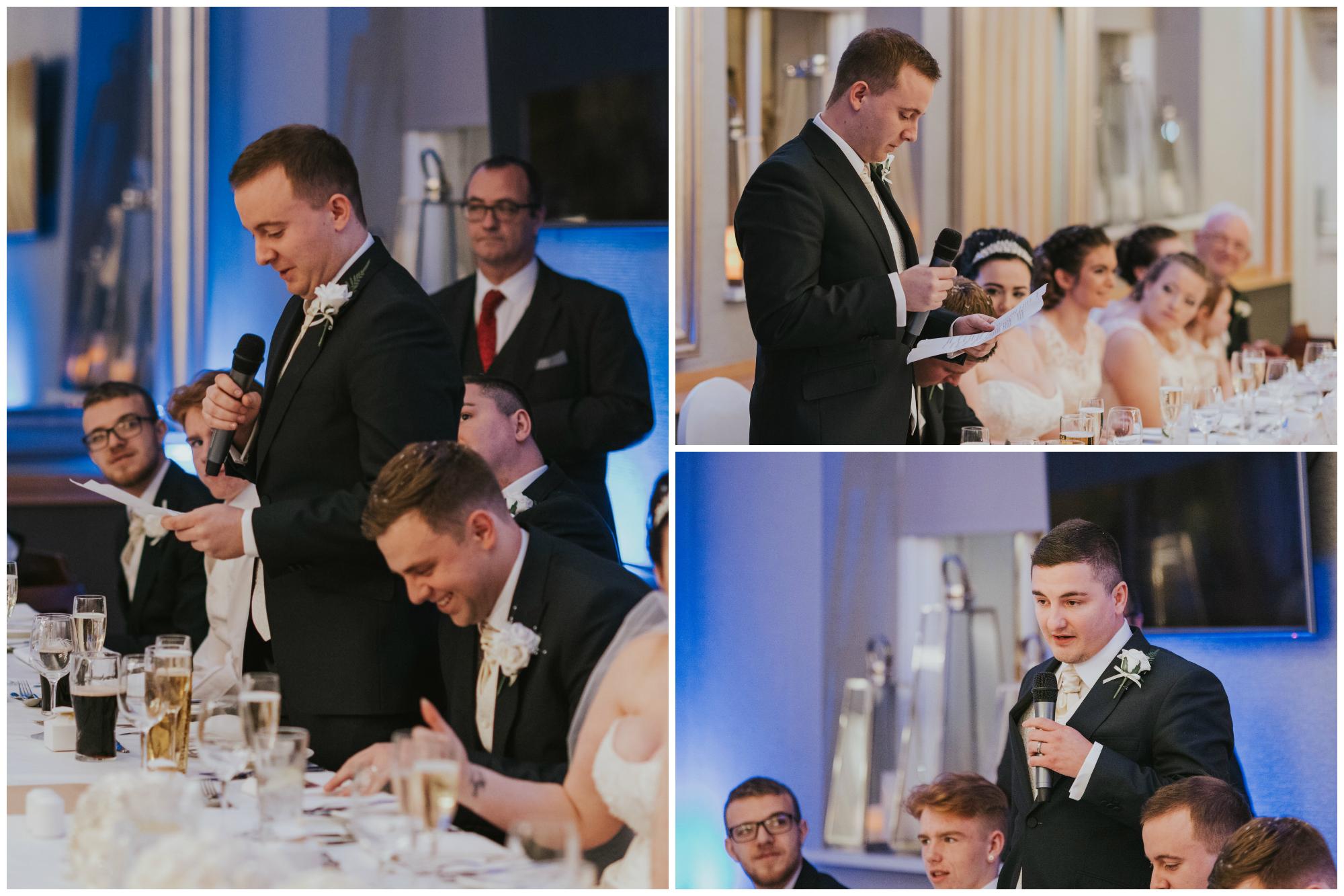 wedding photographer belfast ten square speech bestman