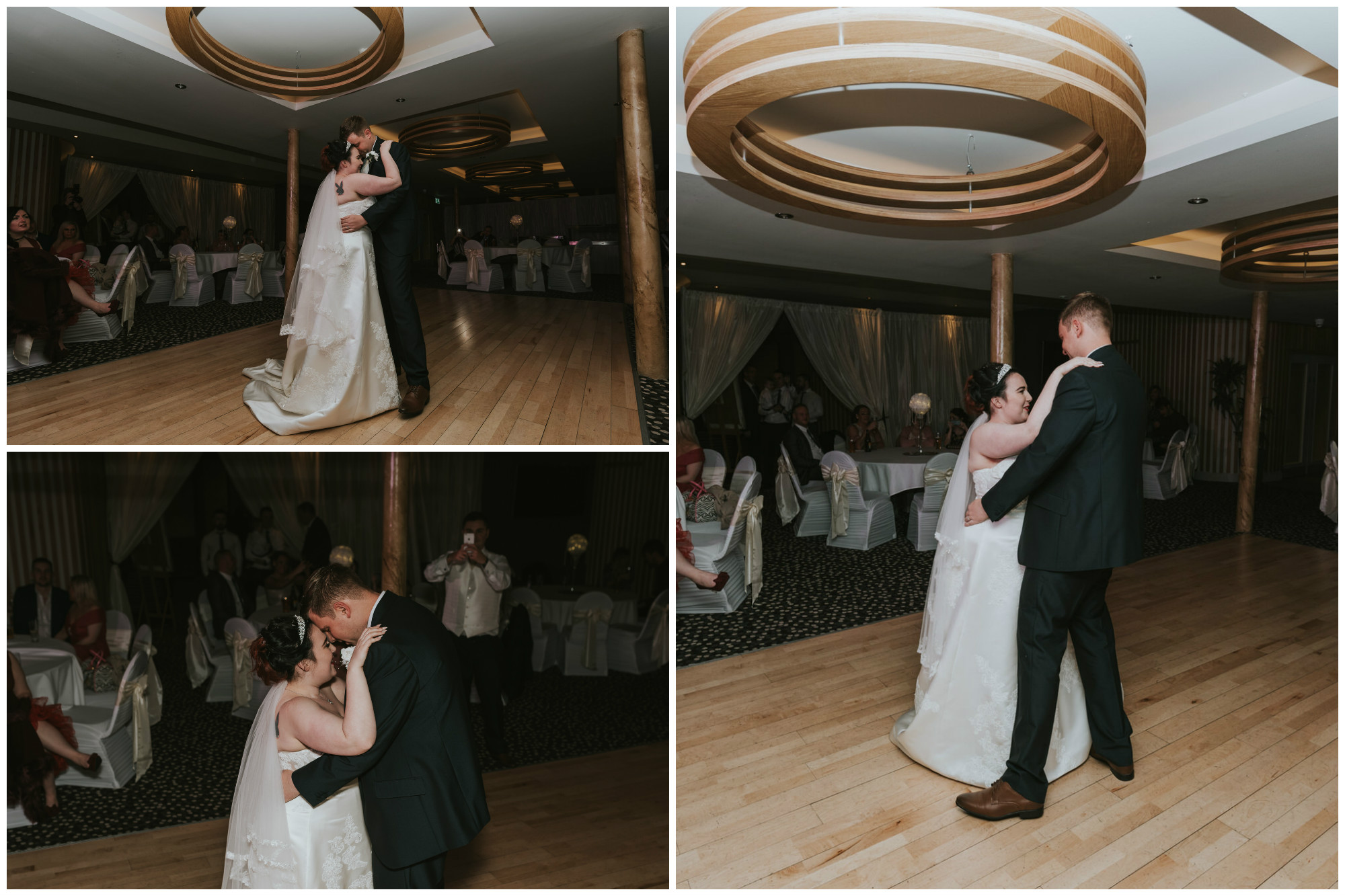 wedding photographer belfast ten square hotel bride and groom first dance