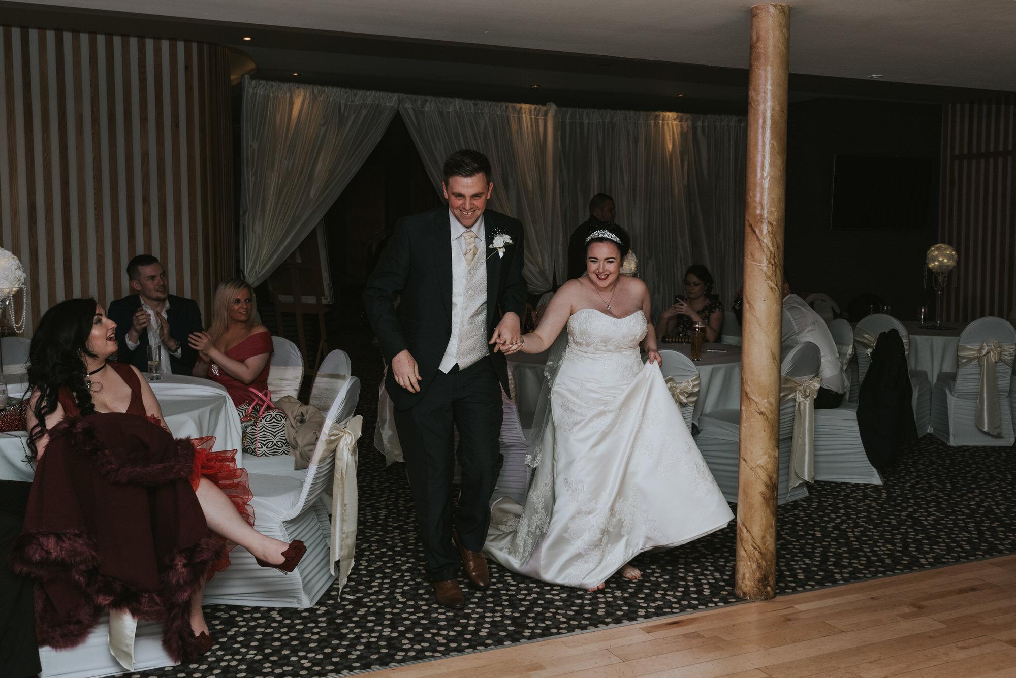 wedding photographer belfast ten square hotel first dance bride groom
