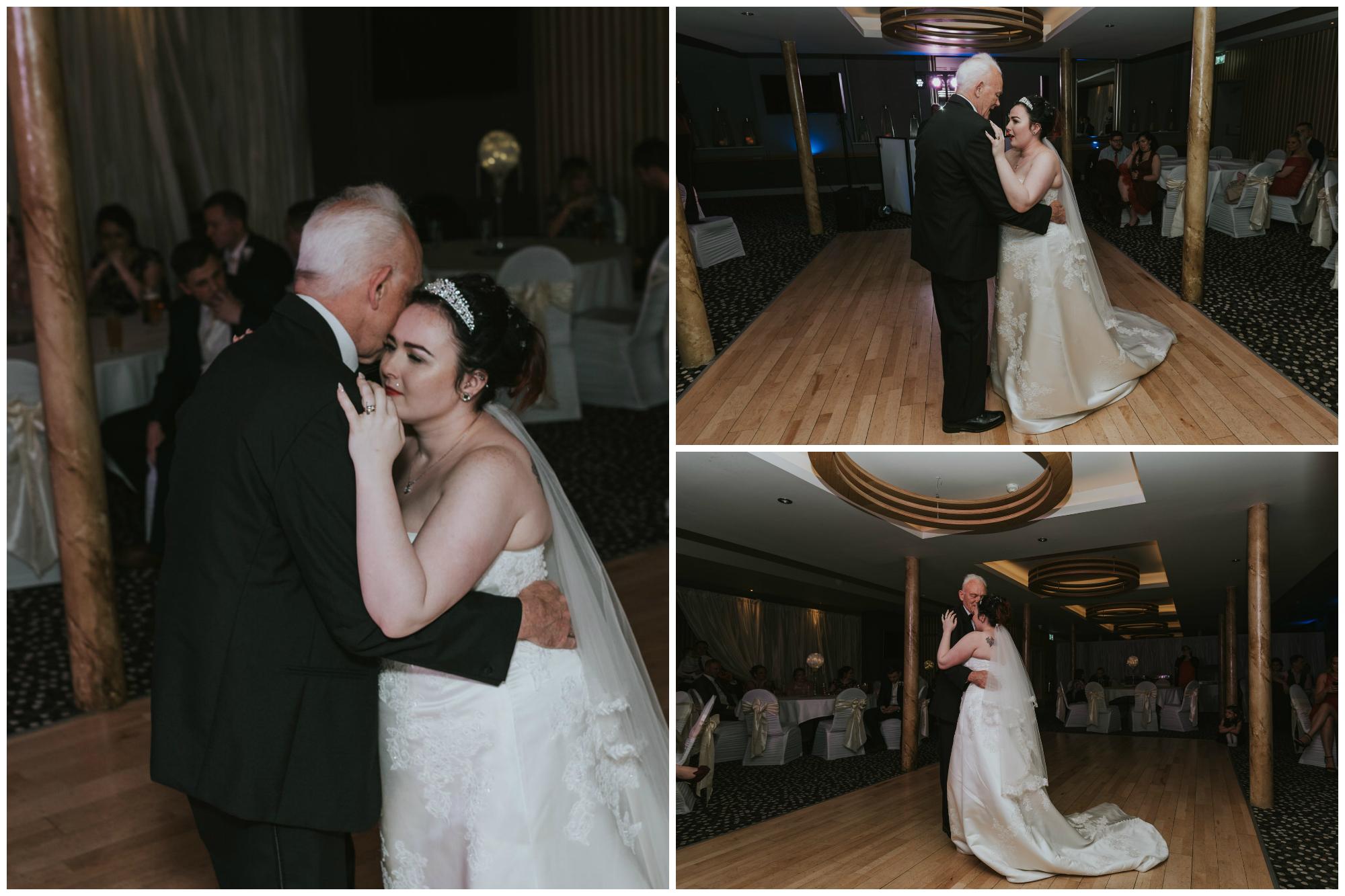 wedding photographer belfast ten square hotel first dance bride granda