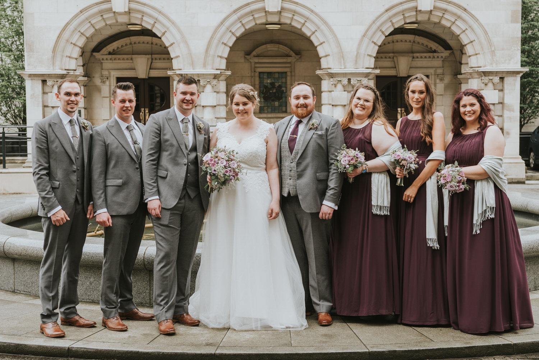 Belfast City Hall Wedding 47