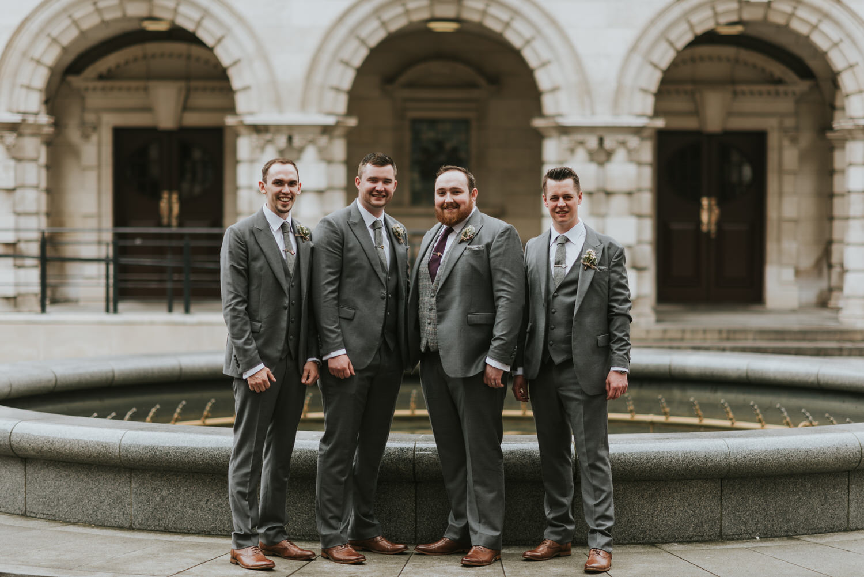 Belfast City Hall Wedding 49