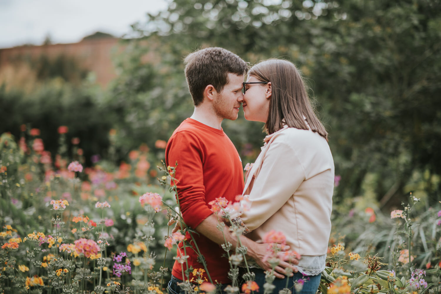 Engagement Session Bangor Walled Garden 11