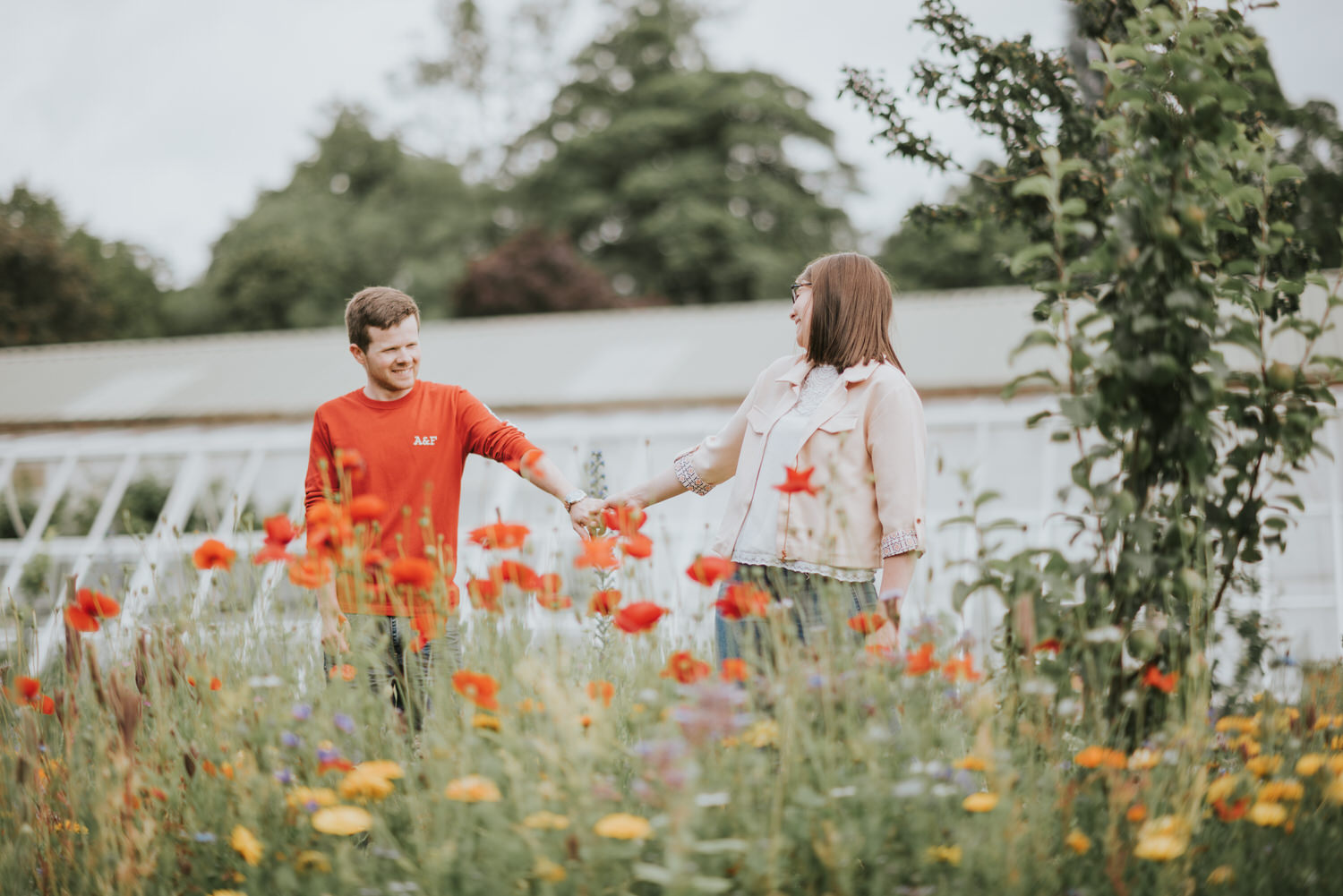 Engagement Session Bangor Walled Garden 16