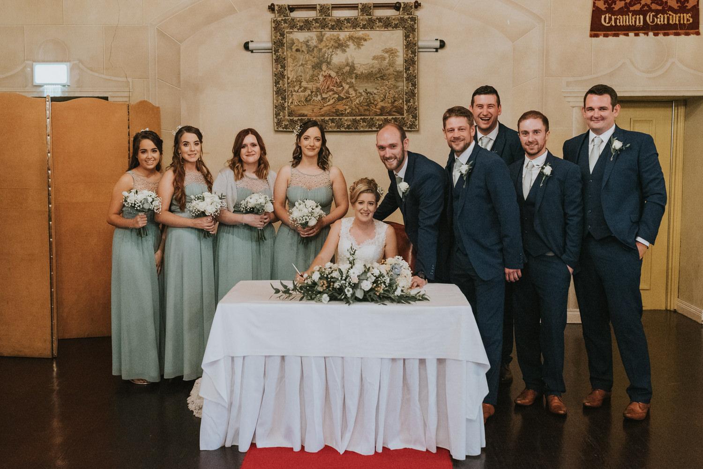 Tullylagan Country House Hotel Wedding 35