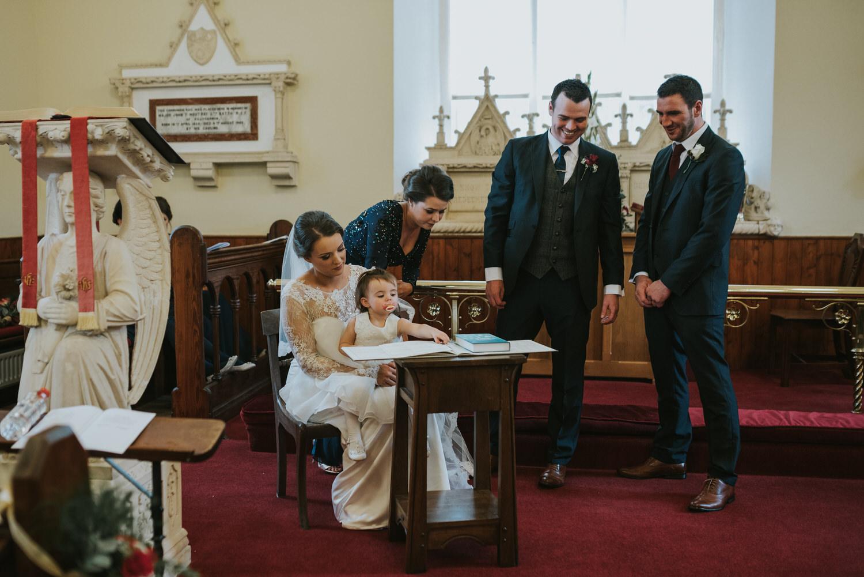 Tullylagan House Wedding 48