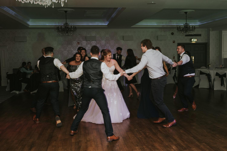 Leighinmohr House Hotel Wedding 103